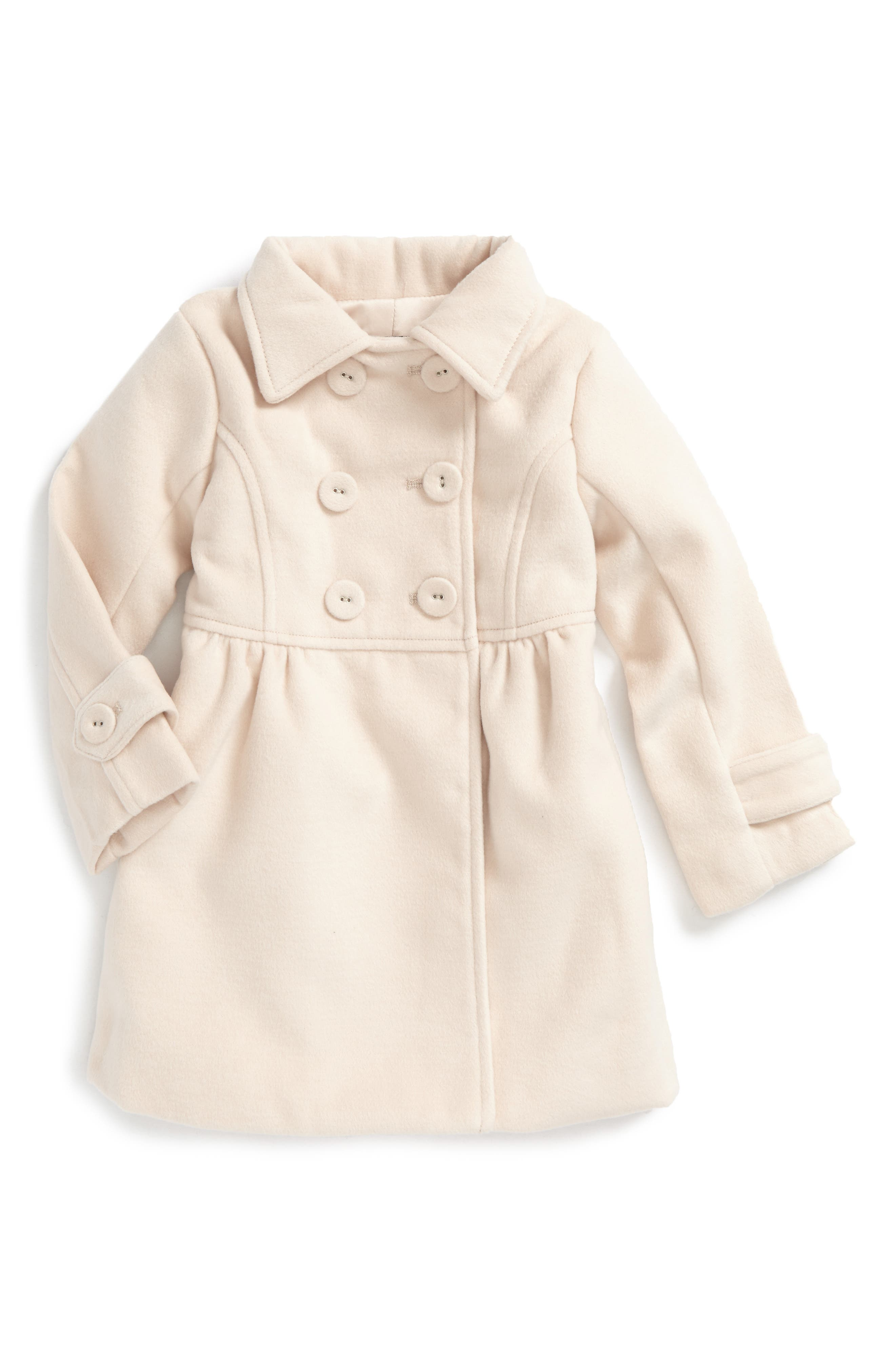 Main Image - Bardot Junior Peacoat (Baby Girls & Toddler Girls)