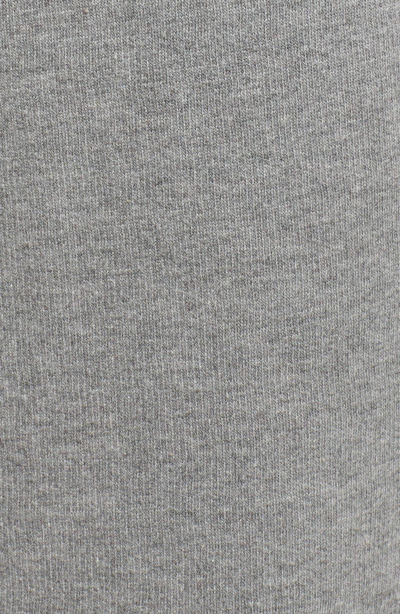 Brunette Jogger Pants,                             Alternate thumbnail 5, color,                             Heather Grey Blonde