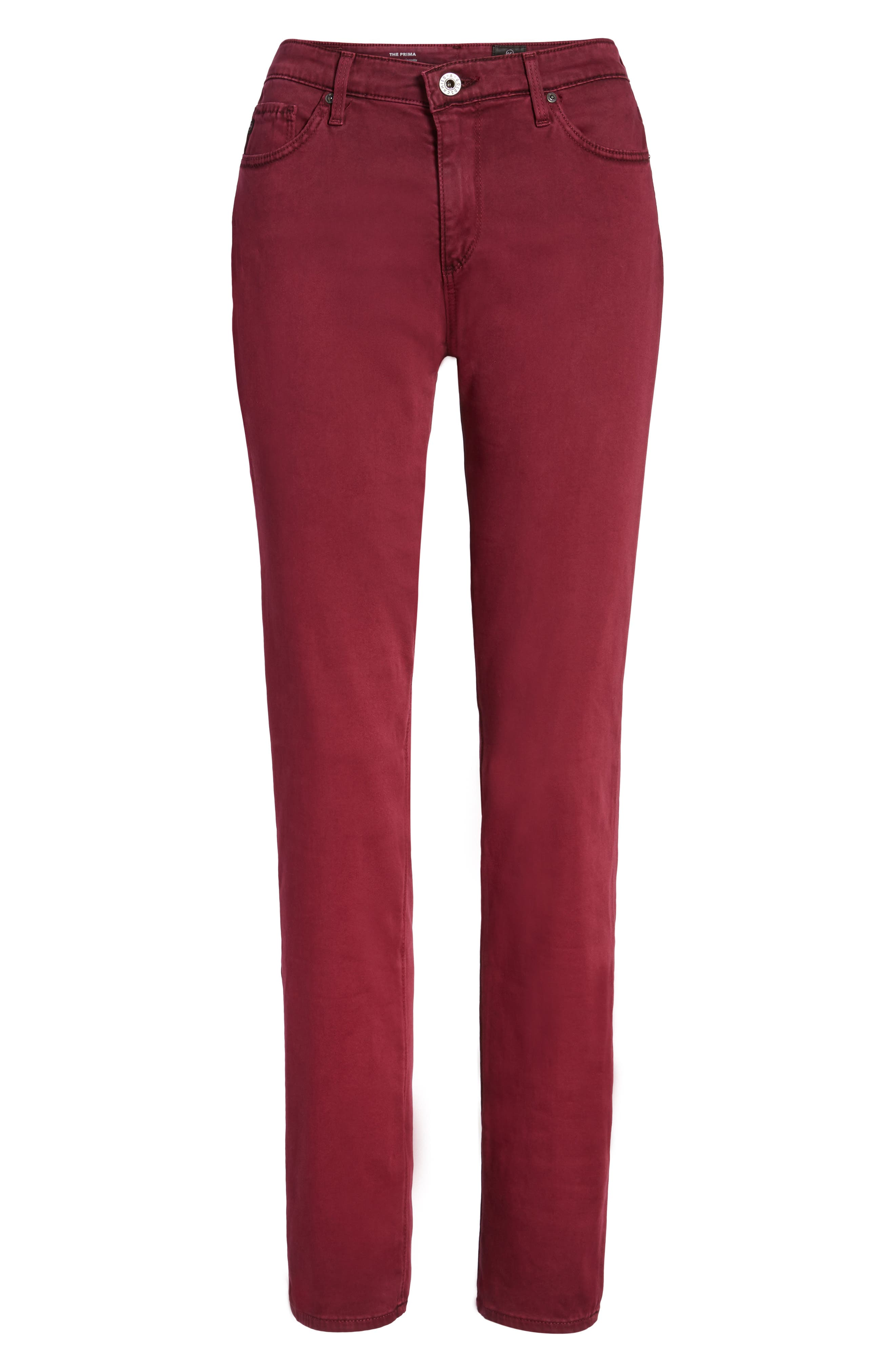 Alternate Image 6  - AG 'The Prima' Cigarette Leg Skinny Jeans