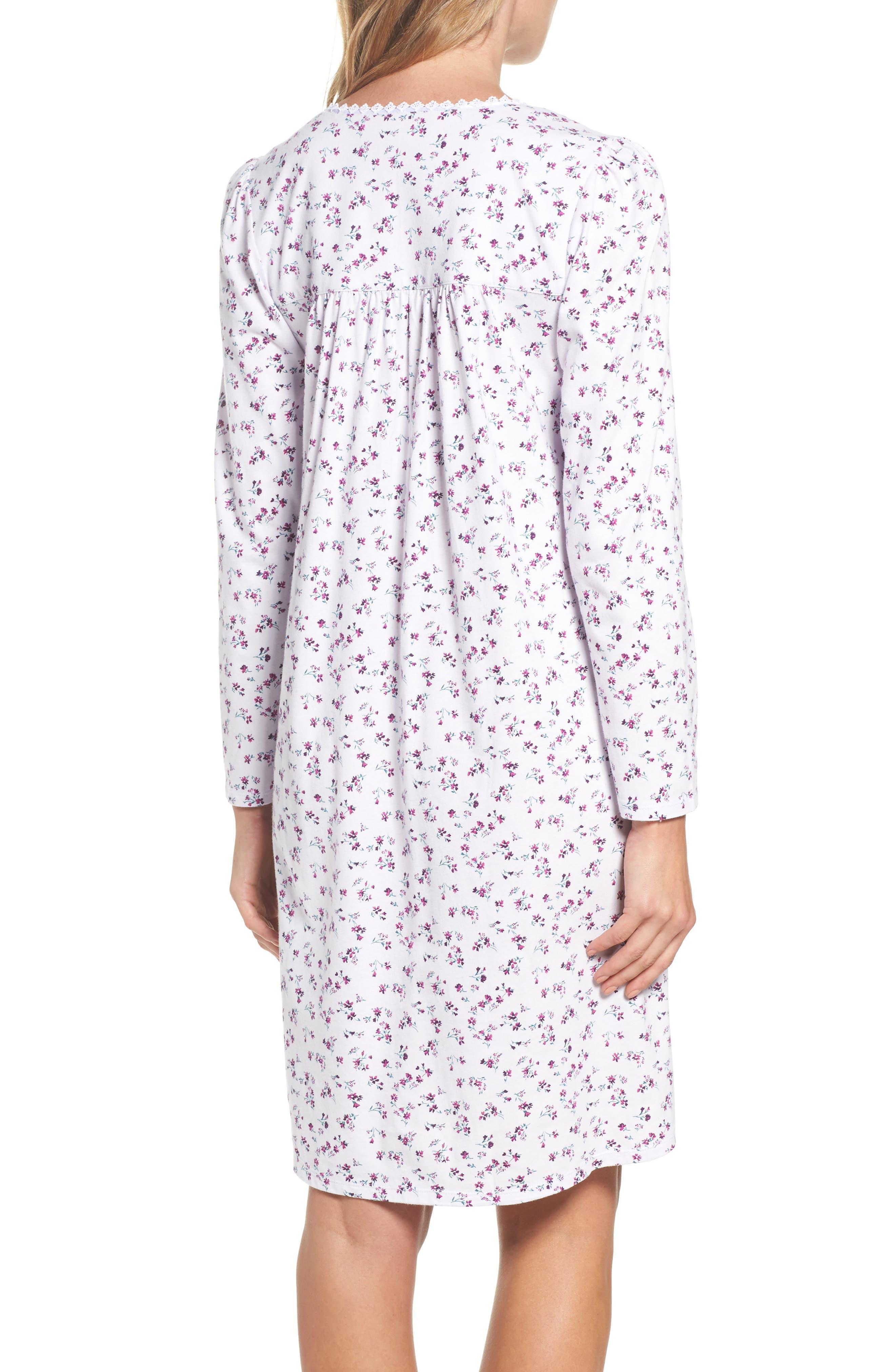 Alternate Image 2  - Eileen West Short Nightgown