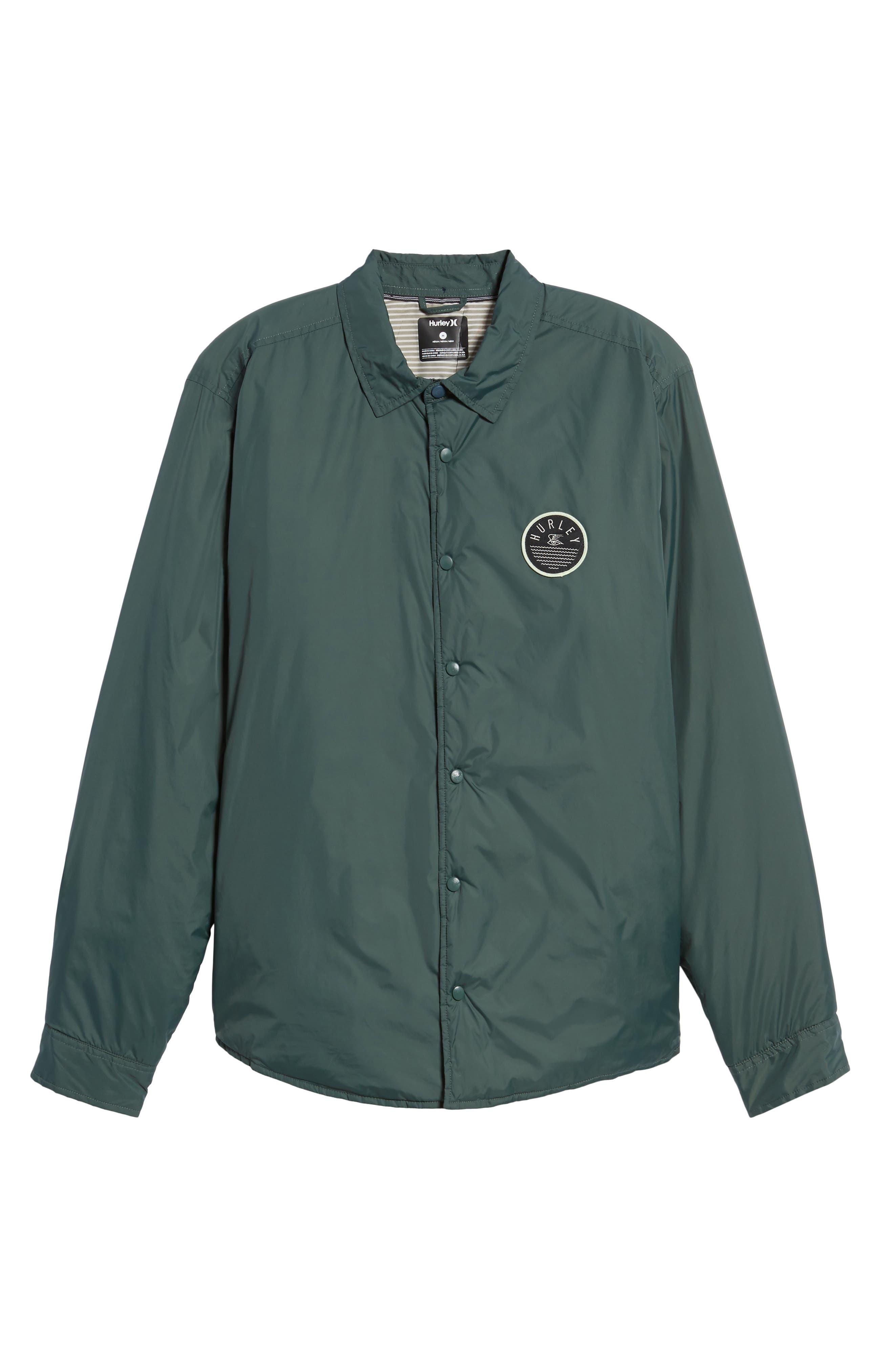 Portland Jacket,                             Alternate thumbnail 6, color,                             Vintage Green