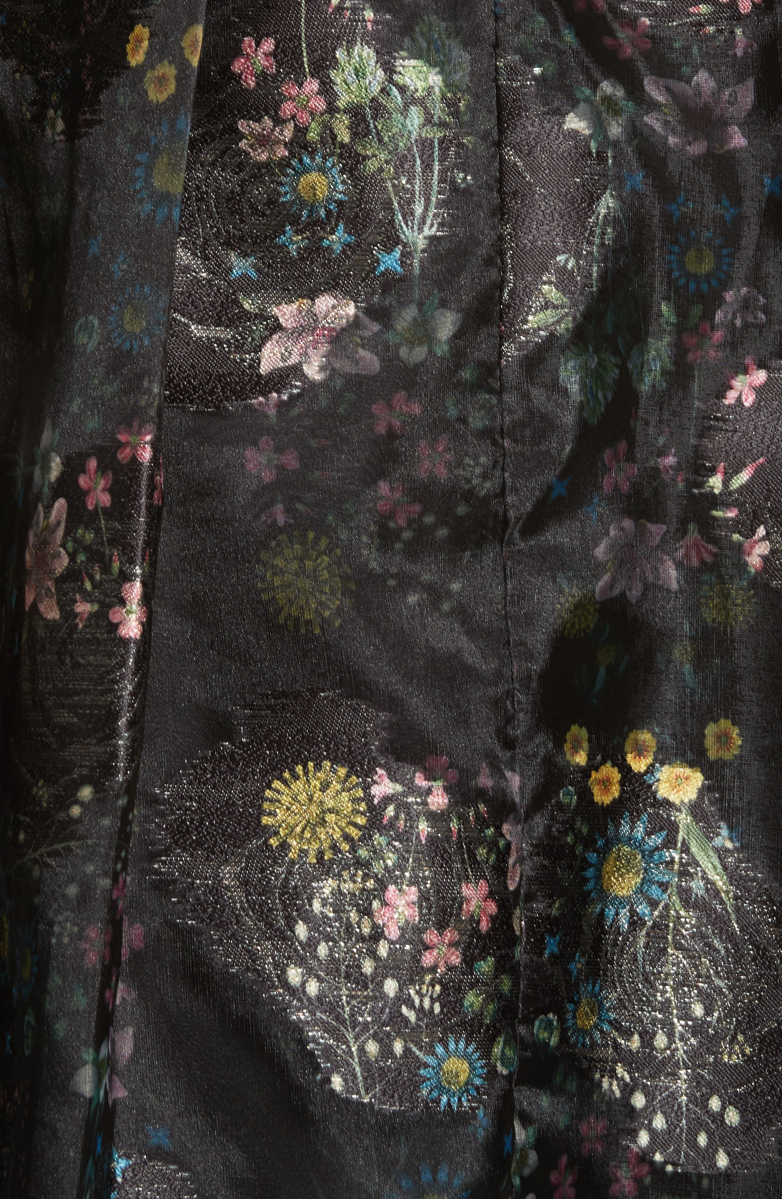 Alternate Image 5  - Ted Baker London Freay Metallic Floral Fit & Flare Dress