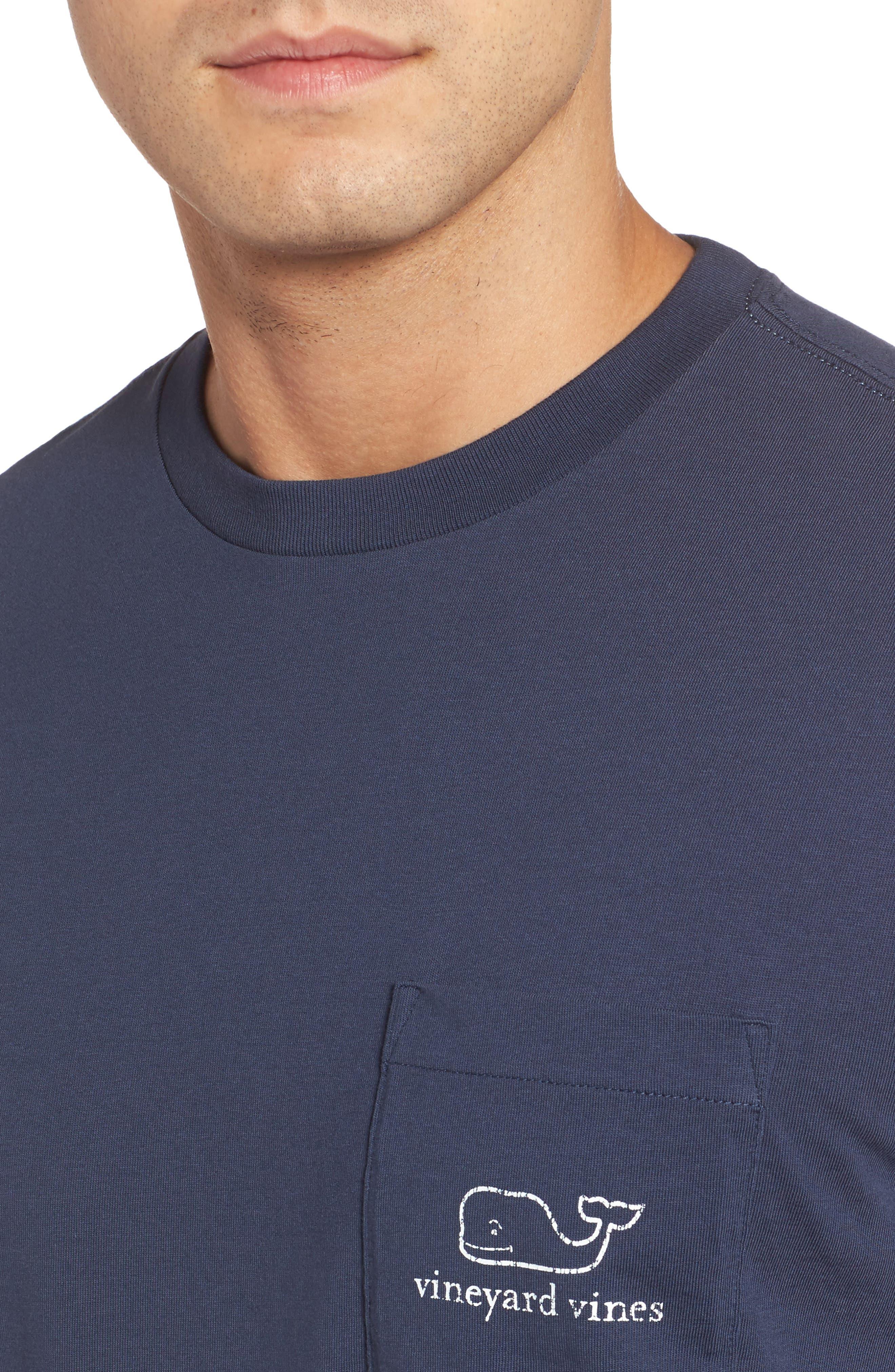 Alternate Image 3  - vineyard vines Vintage Whale Pocket T-Shirt