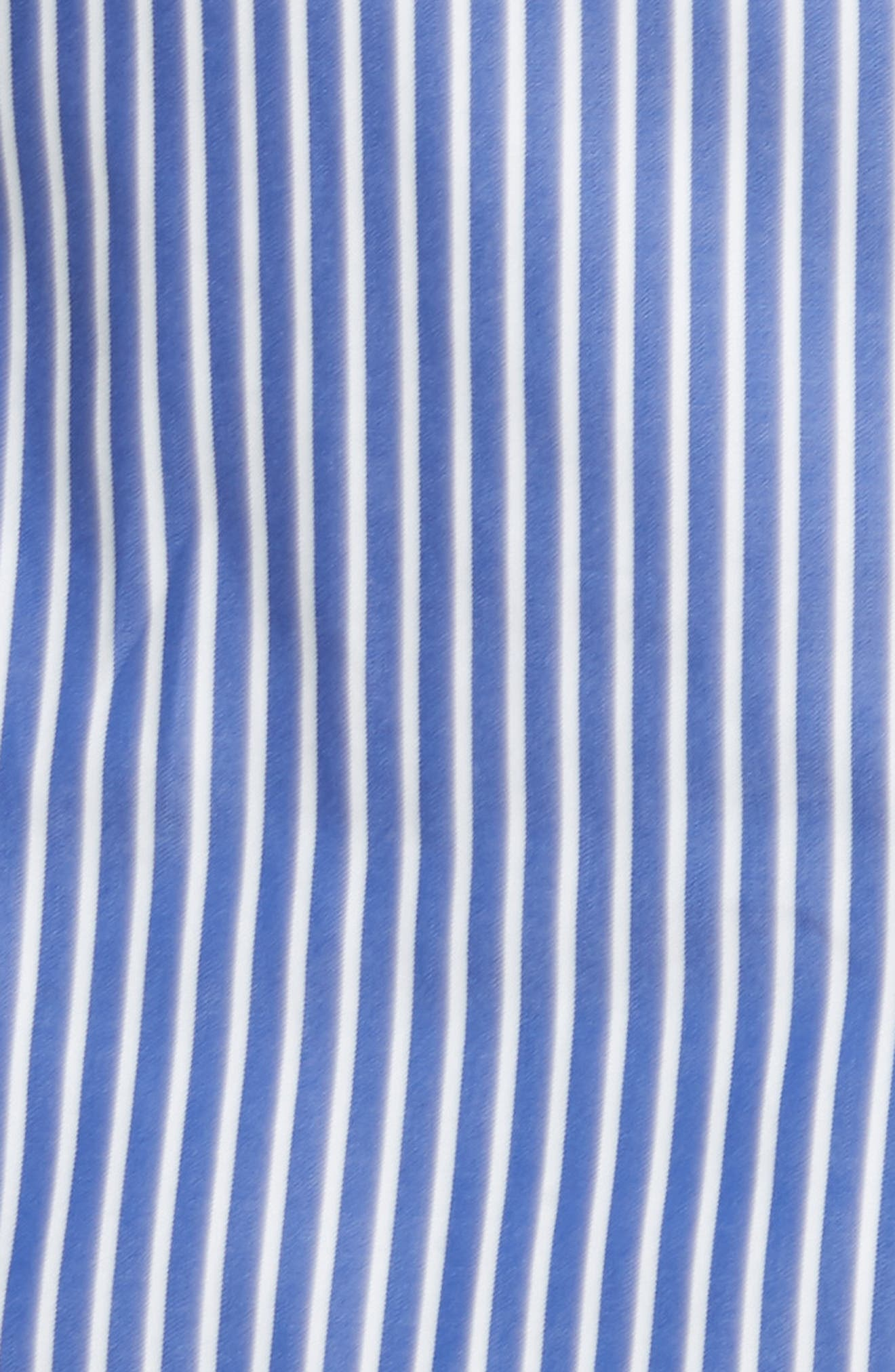Alternate Image 5  - Milly Candice Stripe Shirting Tie Dress