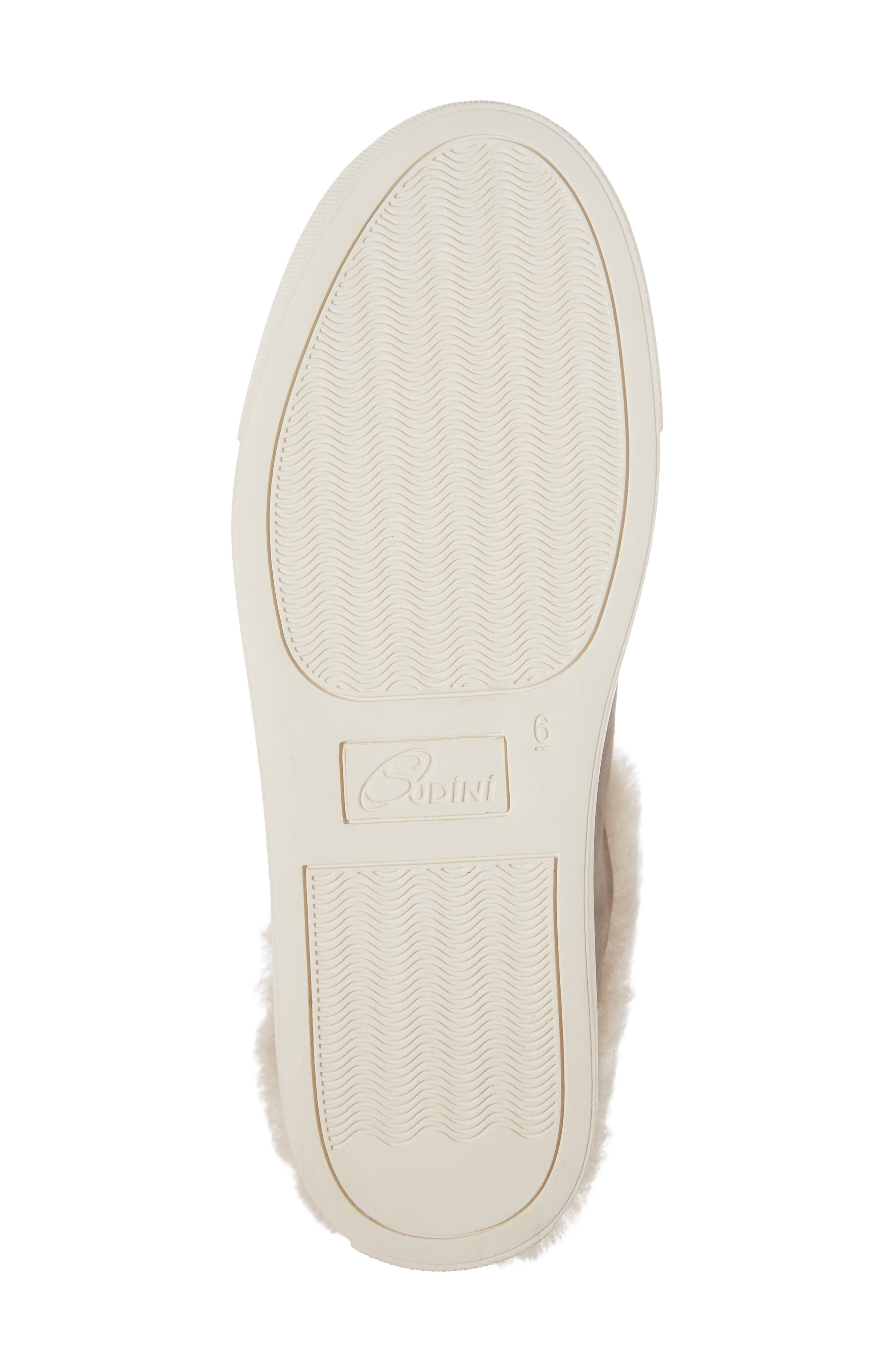 Alternate Image 6  - Sudini Leia Genuine Shearling Lined Slip-On (Women)