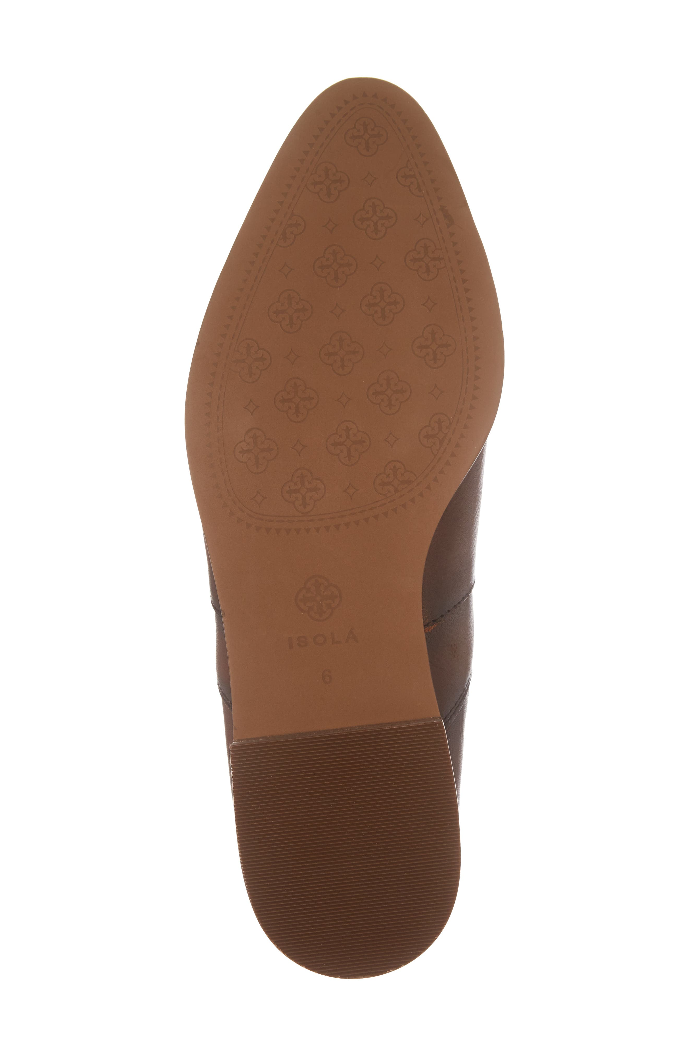 Mora Bootie,                             Alternate thumbnail 6, color,                             Whiskey Leather