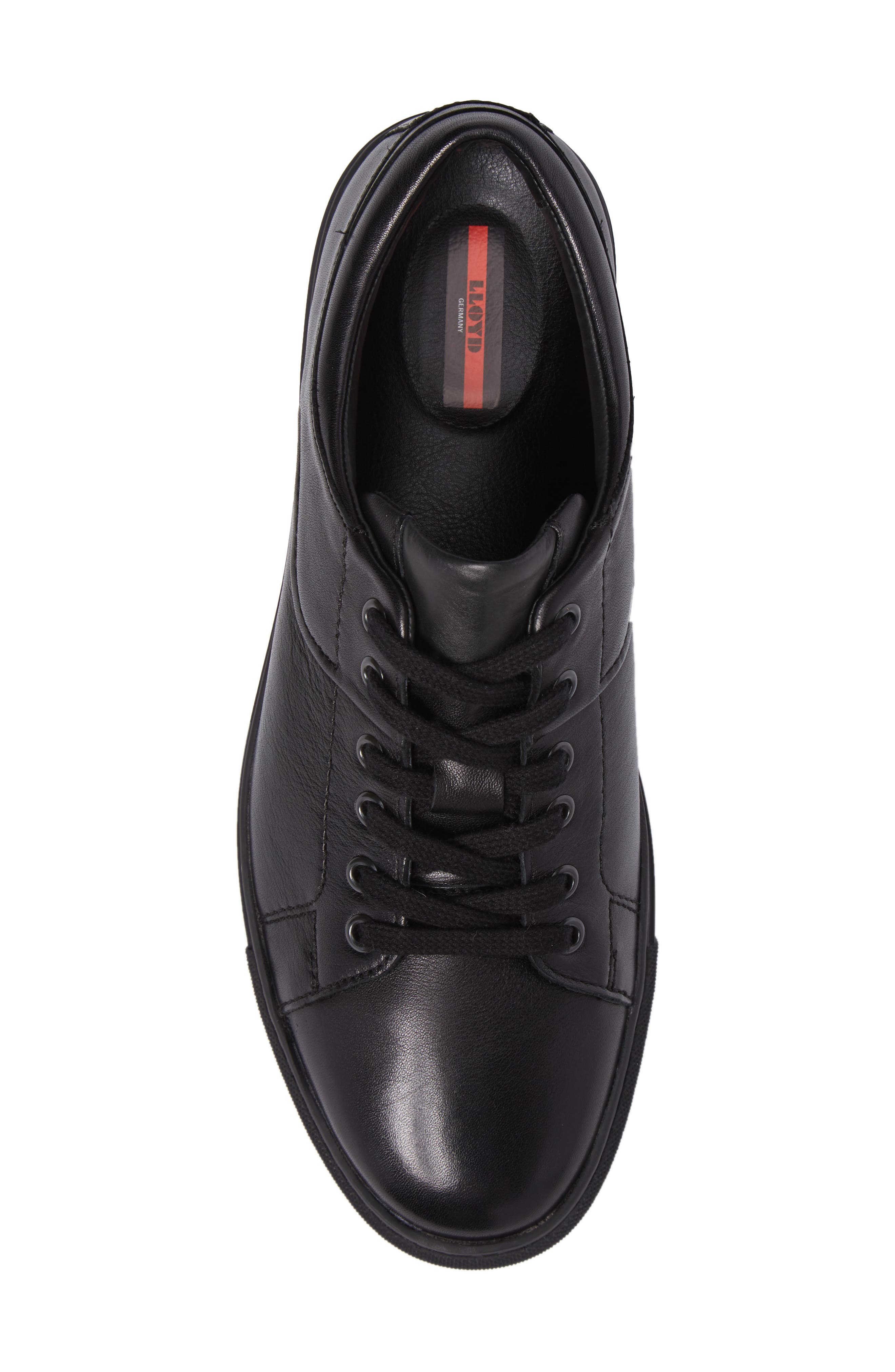 Adamson Sneaker,                             Alternate thumbnail 5, color,                             Black