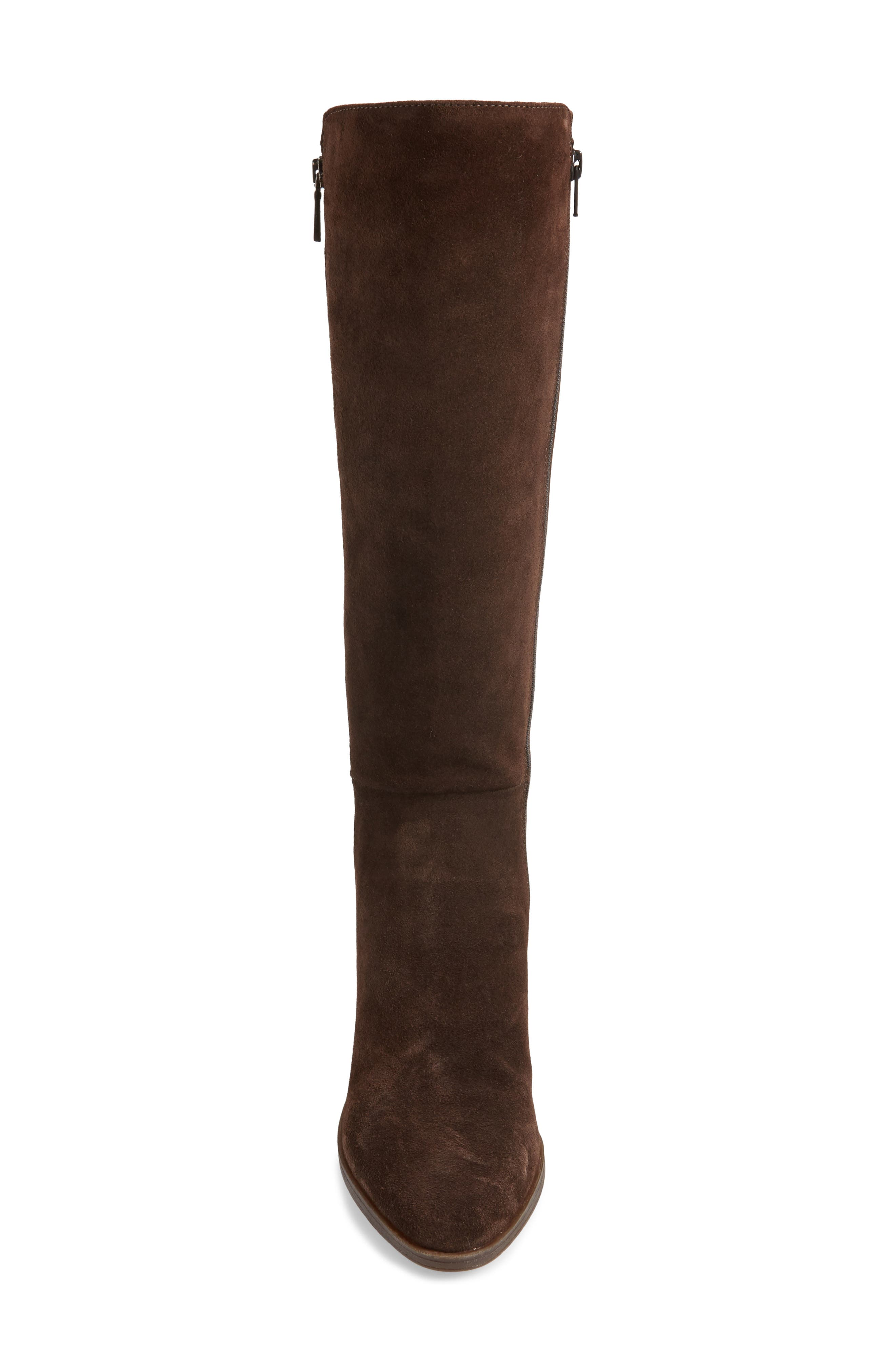 Pony Up Boot,                             Alternate thumbnail 4, color,                             Ebony Suede