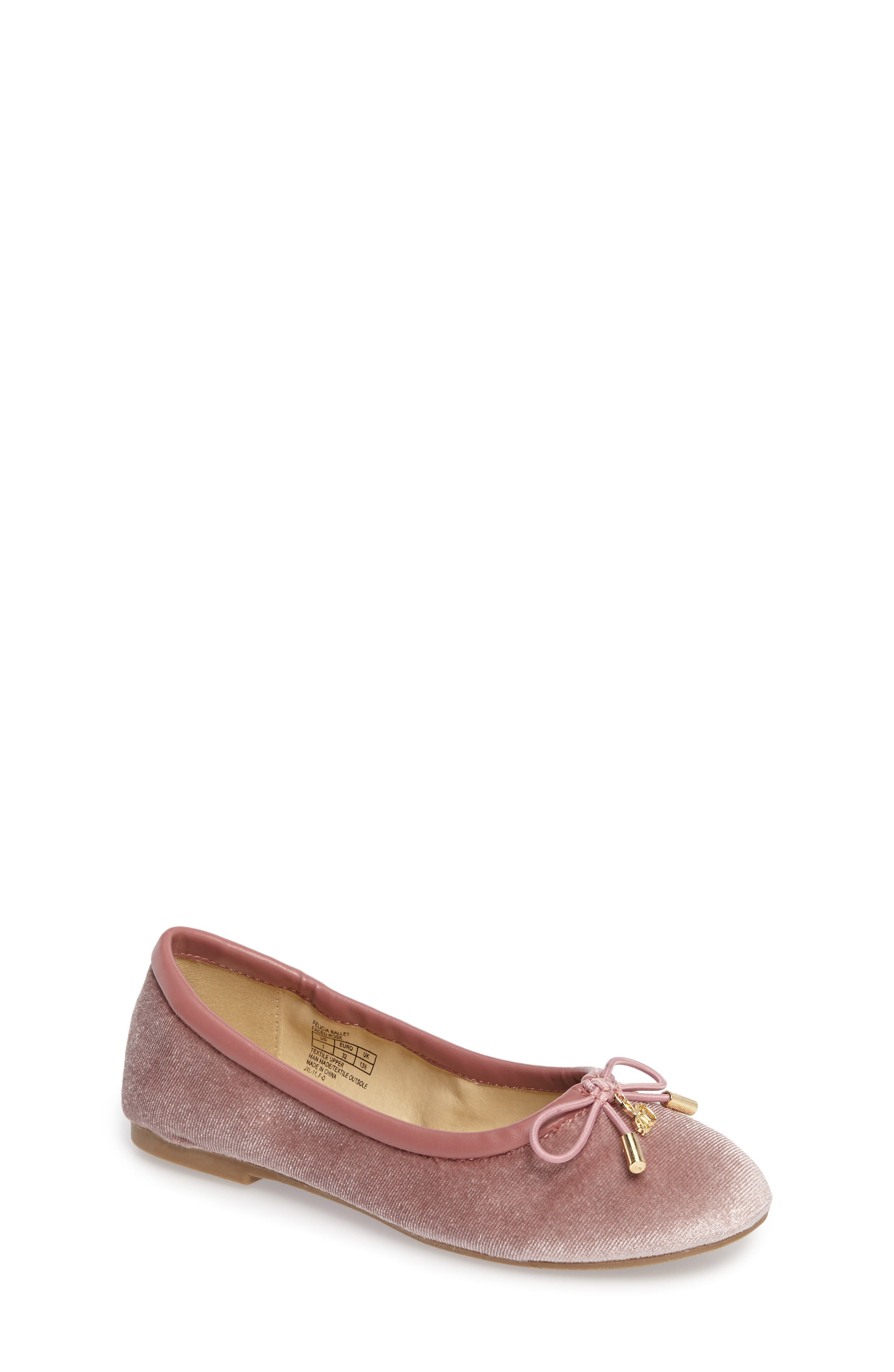 Sam Edelman 'Felicia' Ballet Flat (Toddler, Little Kid & Big Kid)