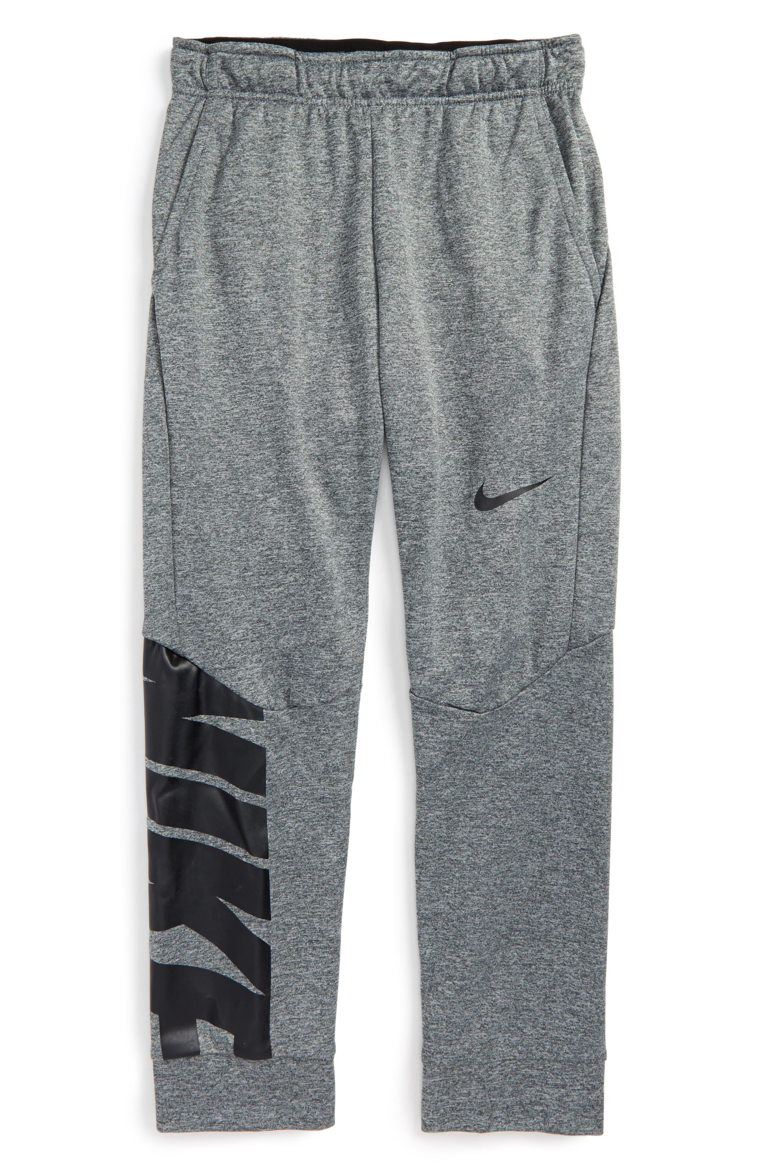 Alternate Image 1 Selected - Nike Therma-FIT GFX Fleece Jogger Pants (Little Boys & Big Boys)