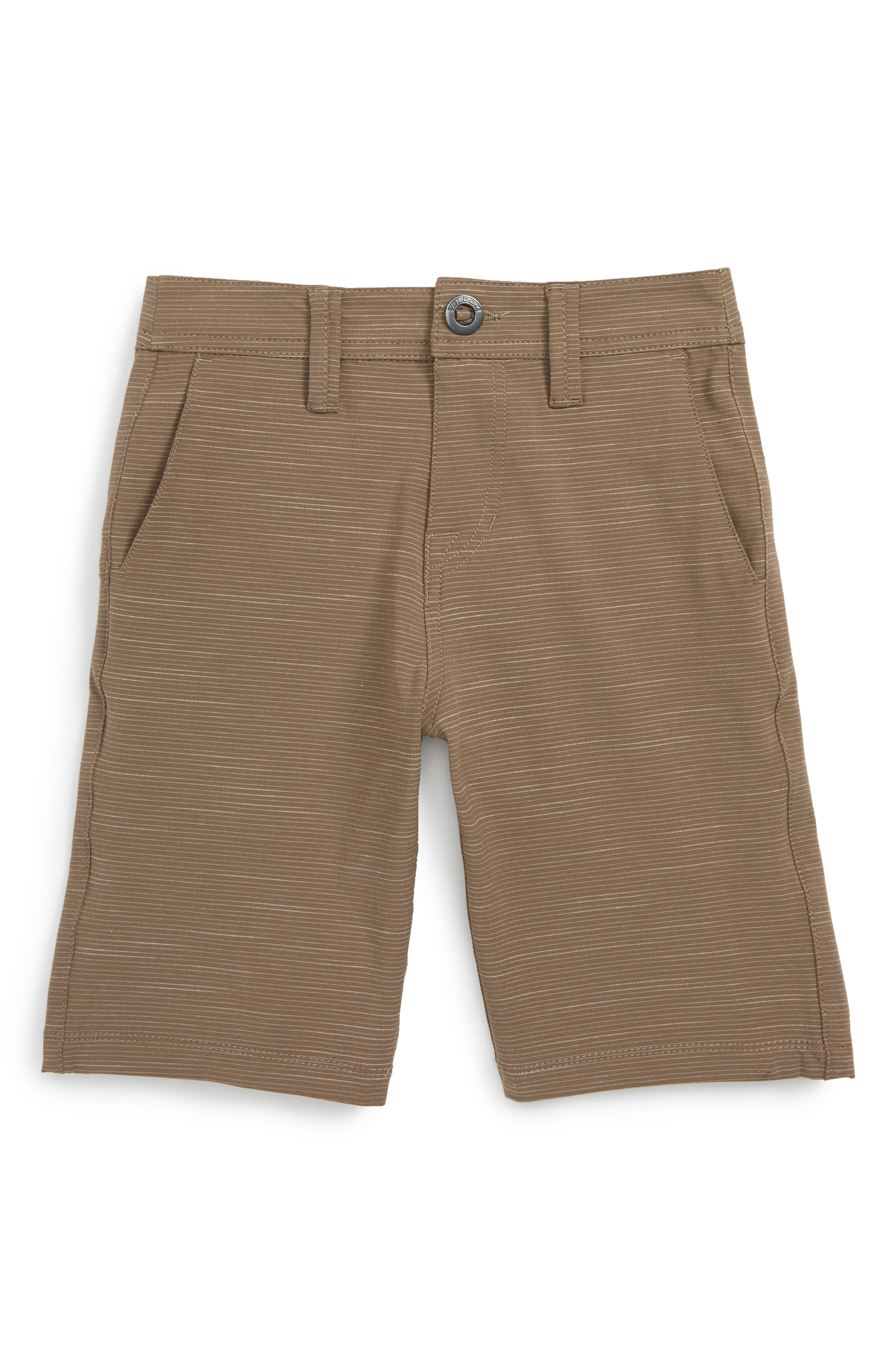 Surf N' Turf Hybrid Shorts,                         Main,                         color, Mushroom