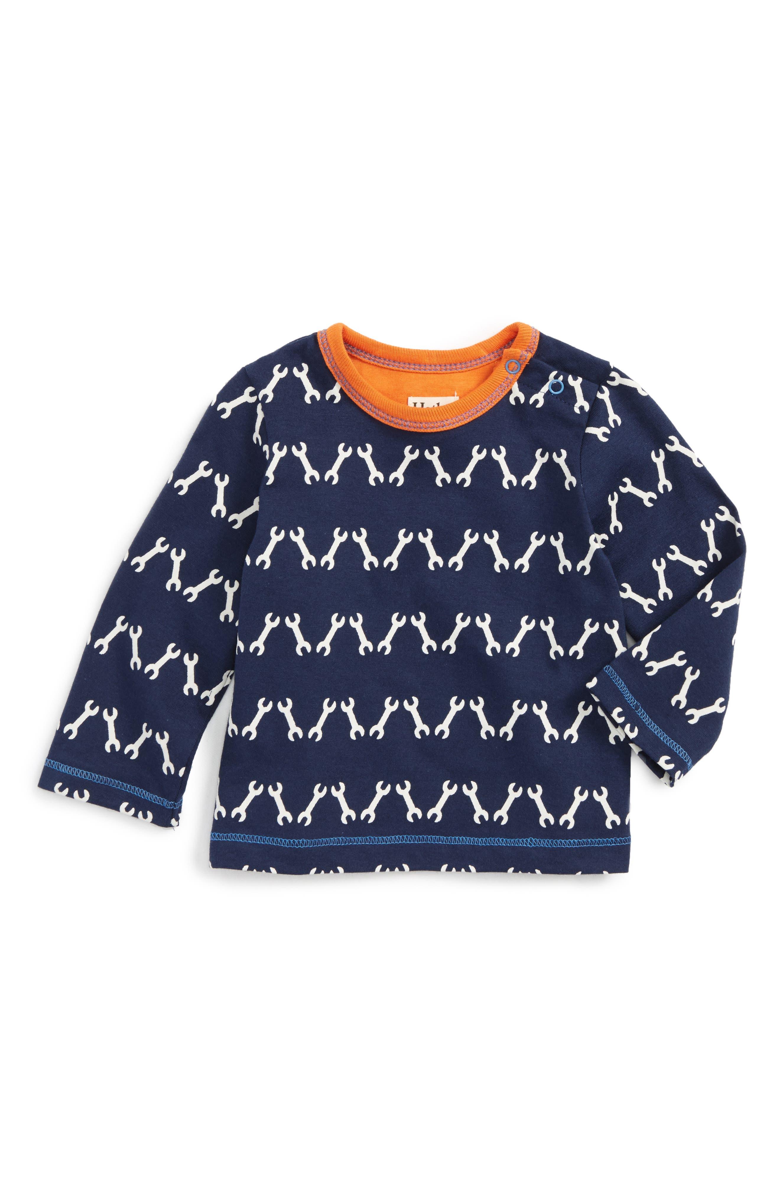 Alternate Image 1 Selected - Hatley Long Sleeve T-Shirt (Baby Boys)