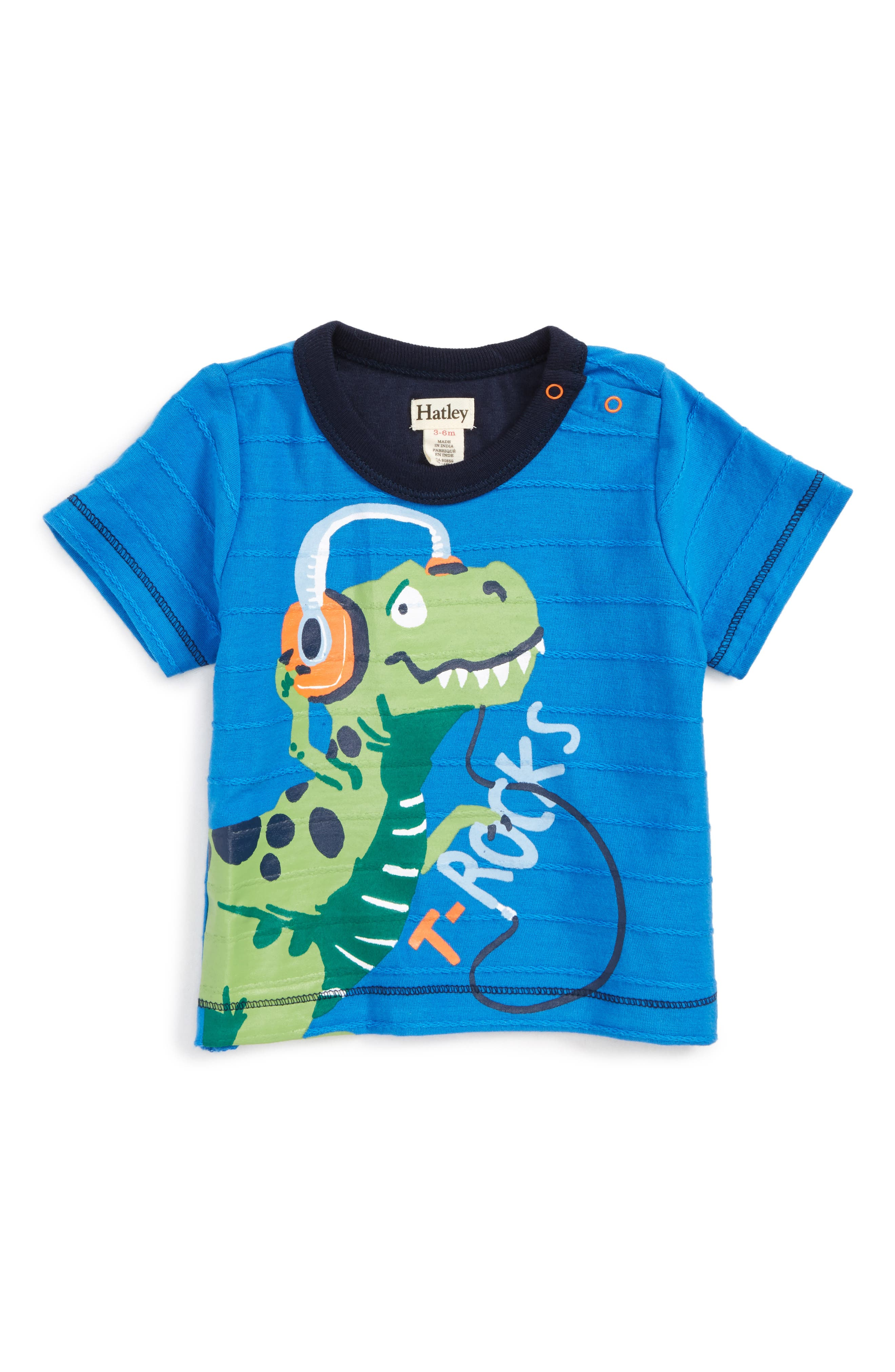 Graphic T-Shirt,                         Main,                         color, Rockin Dinosaur