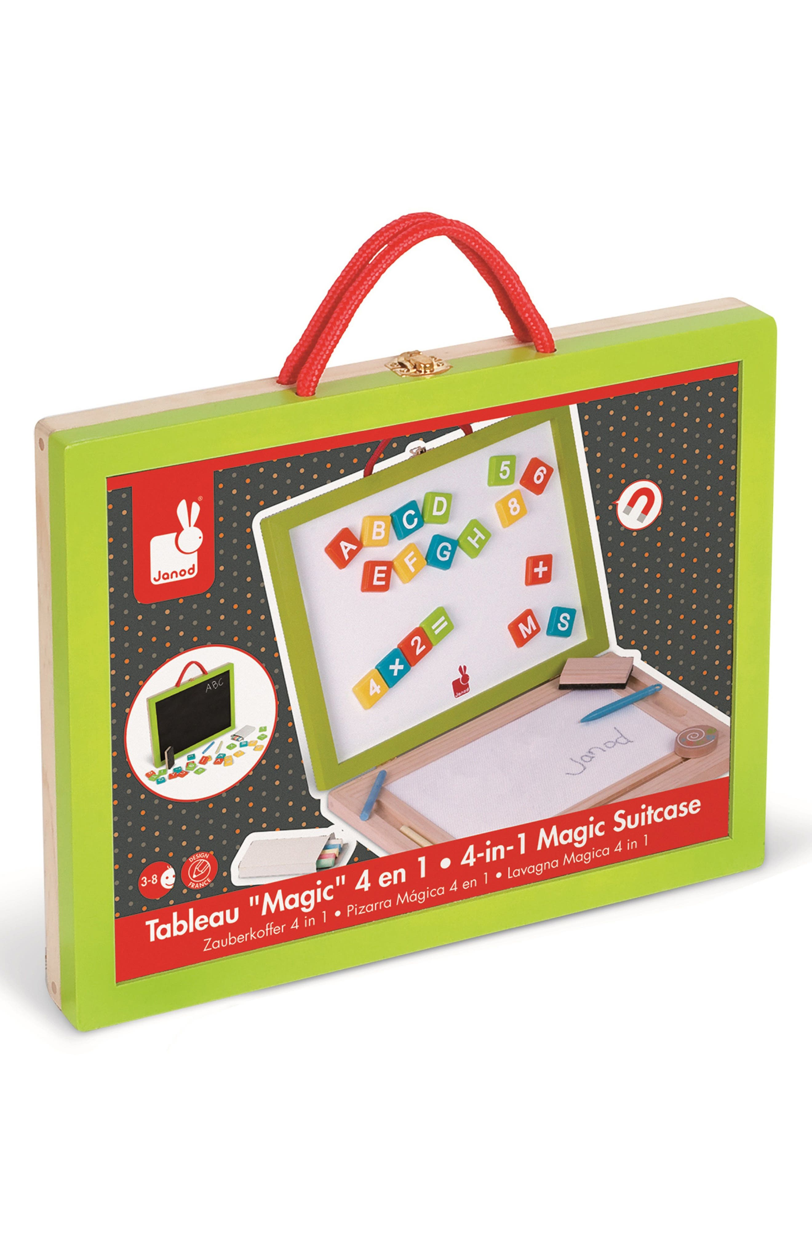 4-in-1 Writing Set & Carrying Case,                         Main,                         color, Multi
