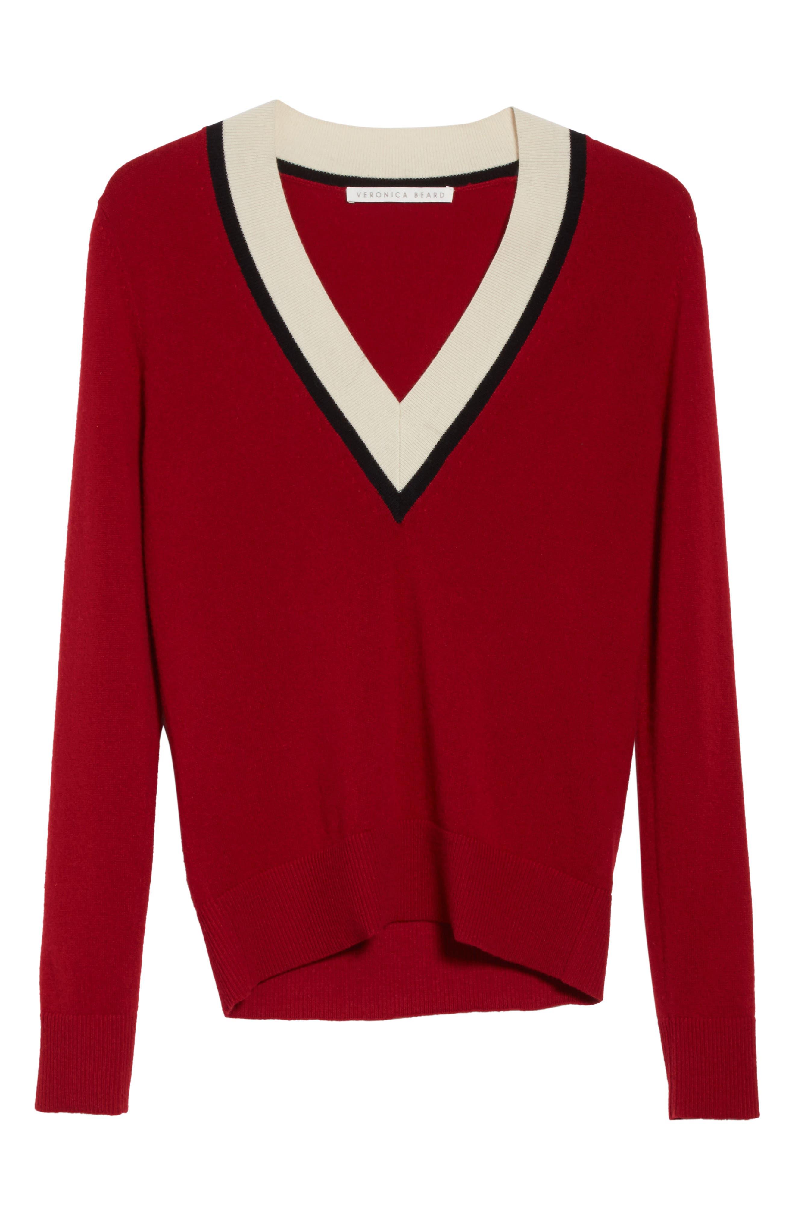 Alternate Image 6  - Veronica Beard Barrett Cashmere Sweater