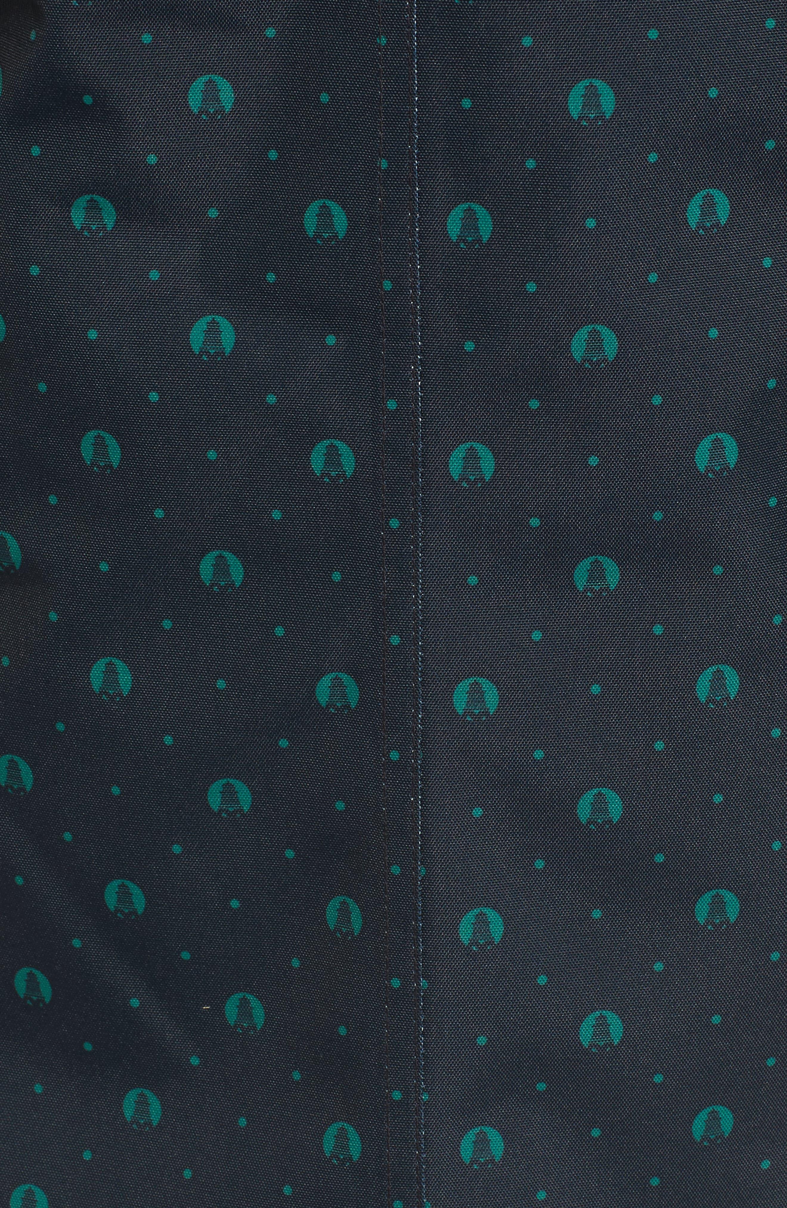 Decoy Anorak Jacket,                             Alternate thumbnail 5, color,                             Navy / Evergreen Beacon S