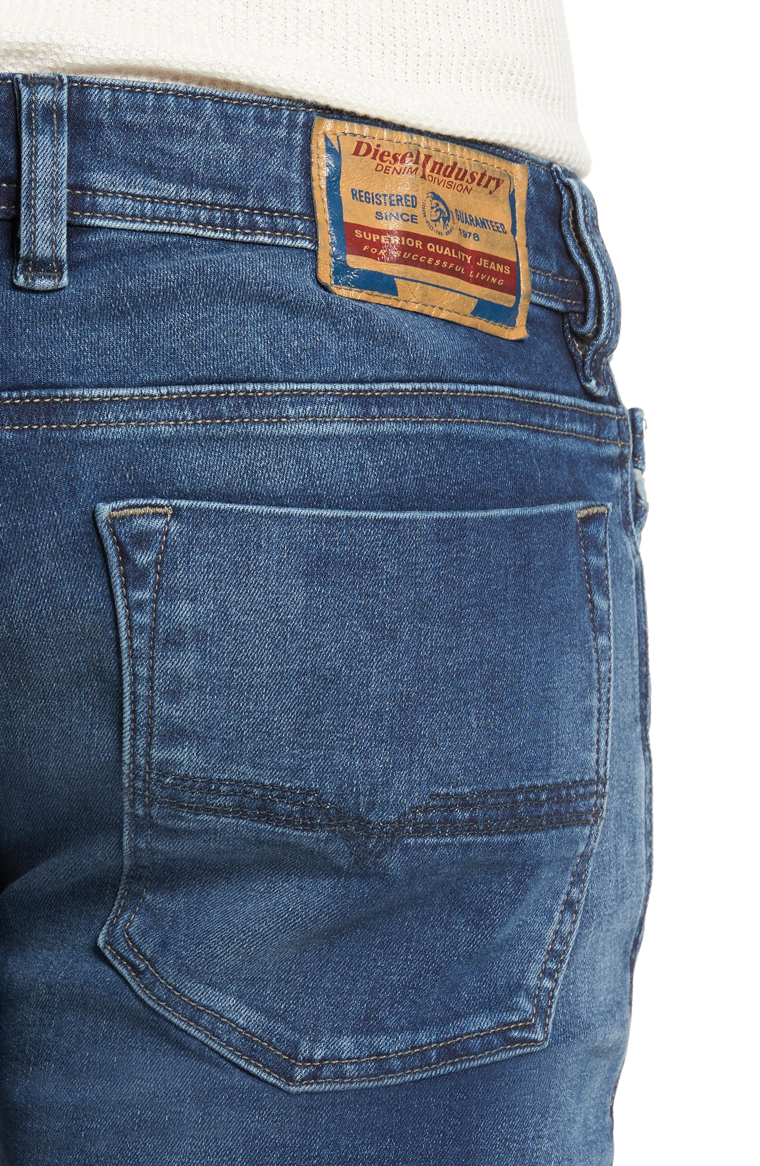 Alternate Image 4  - DIESEL® Zatiny Bootcut Jeans (84HV)