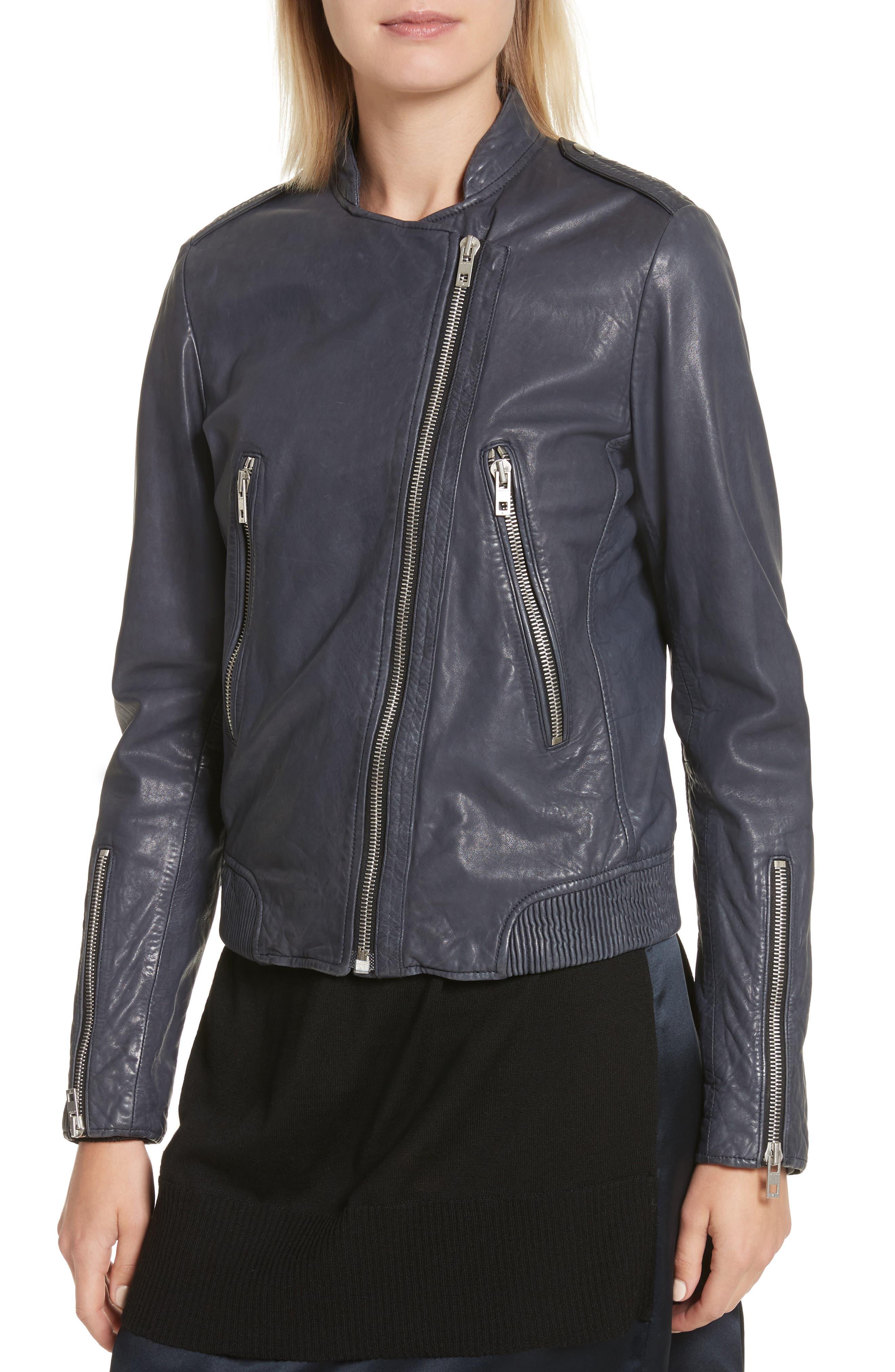 Alternate Image 5  - rag & bone Lyon Leather Jacket