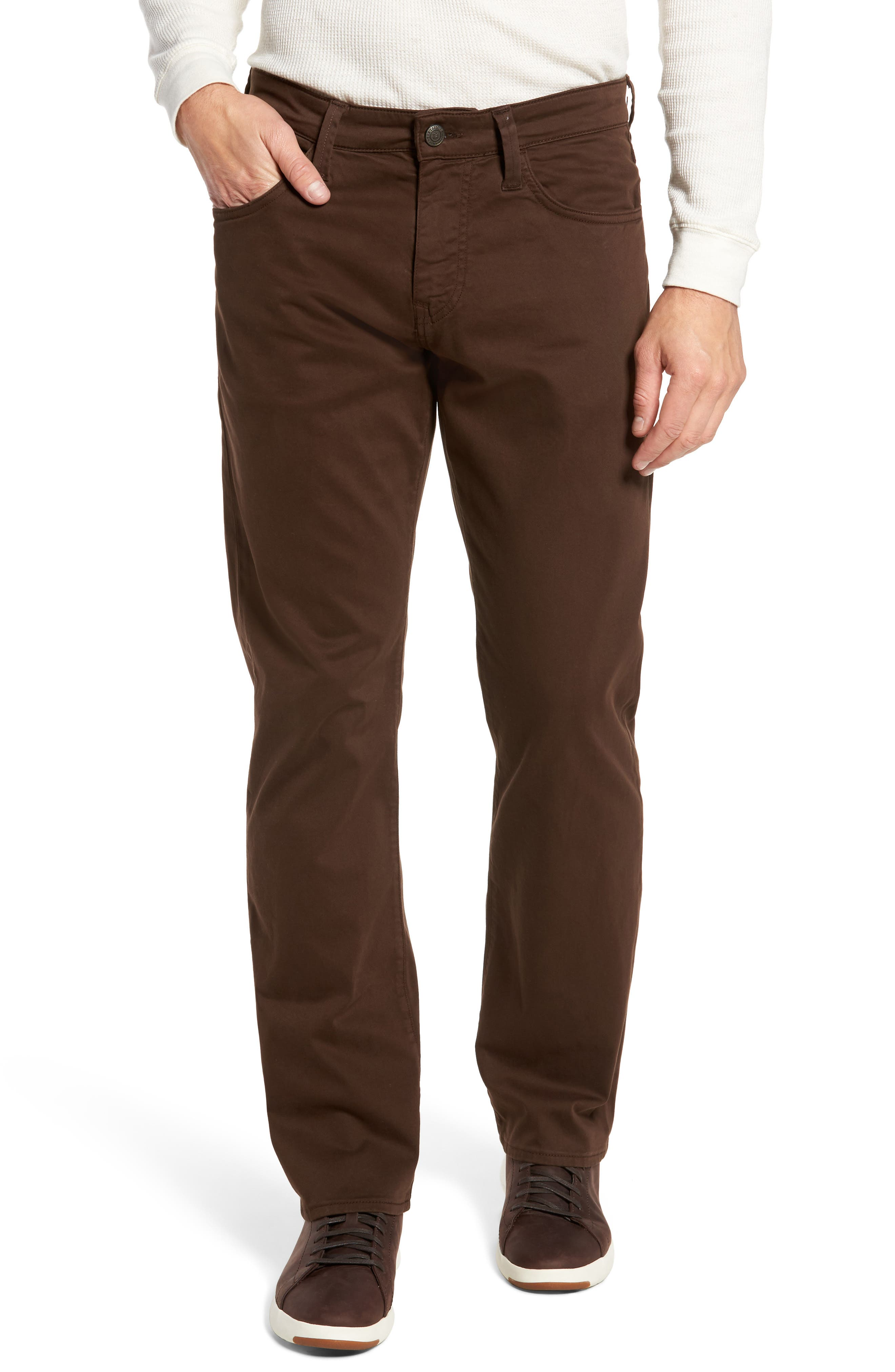 Matt Relaxed Fit Jeans,                         Main,                         color, Coffee Bean Twill