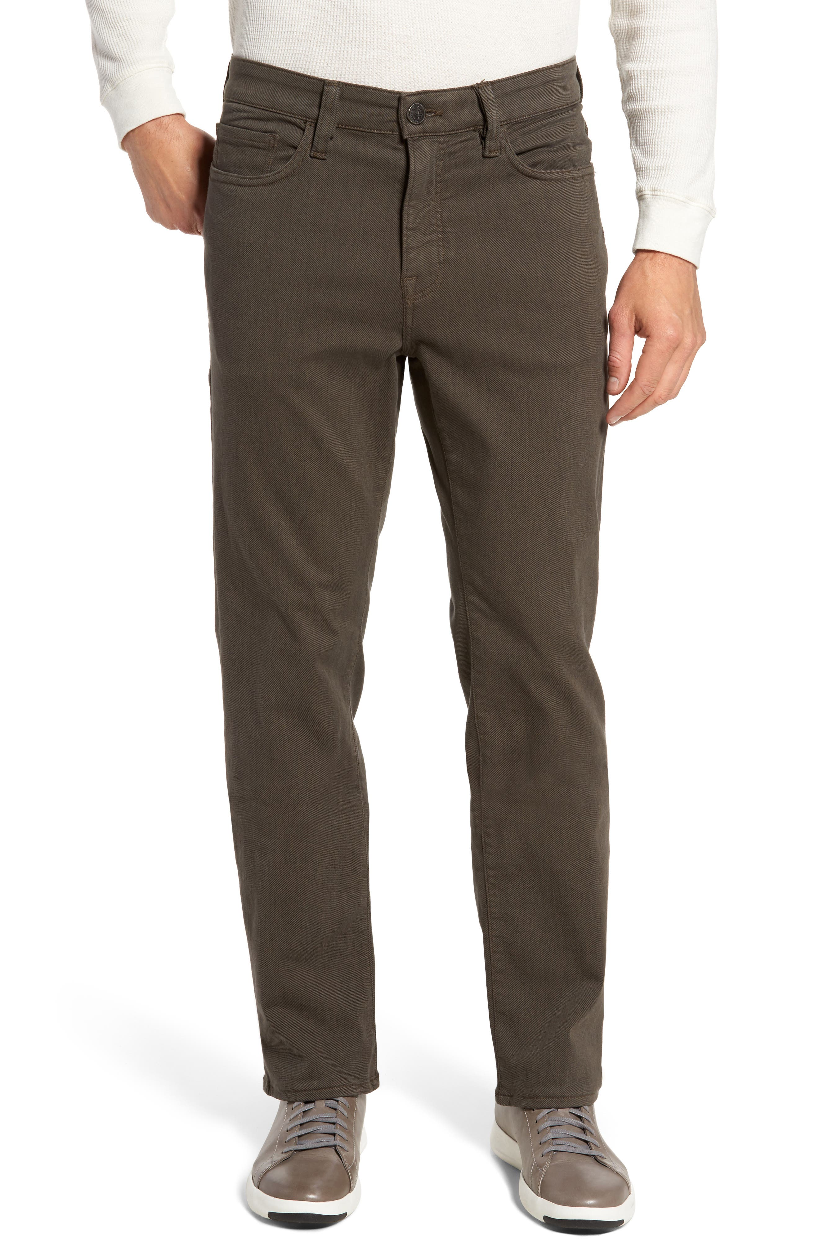 Main Image - 34 Heritage Charisma Relaxed Fit Jeans (Taupe Diagonal)