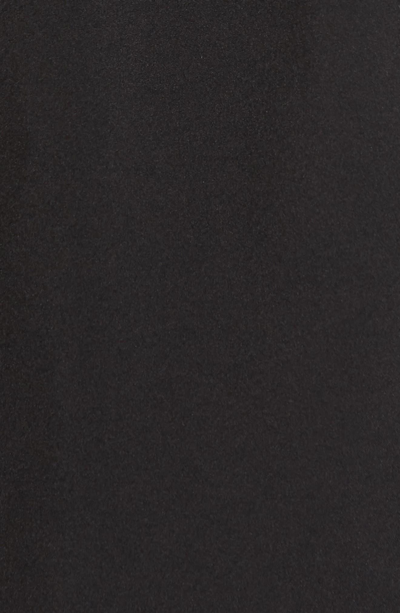 Soft Shell Anorak Jacket,                             Alternate thumbnail 5, color,                             Black