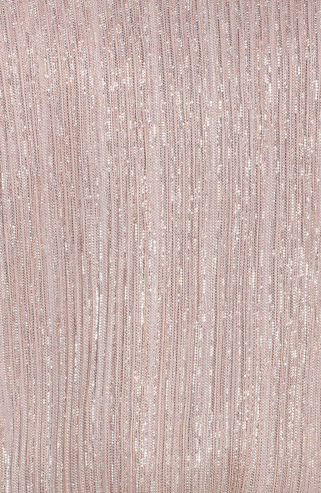 Kendall Blouson Maxi Dress,                             Alternate thumbnail 5, color,                             Magic Muave Glitter