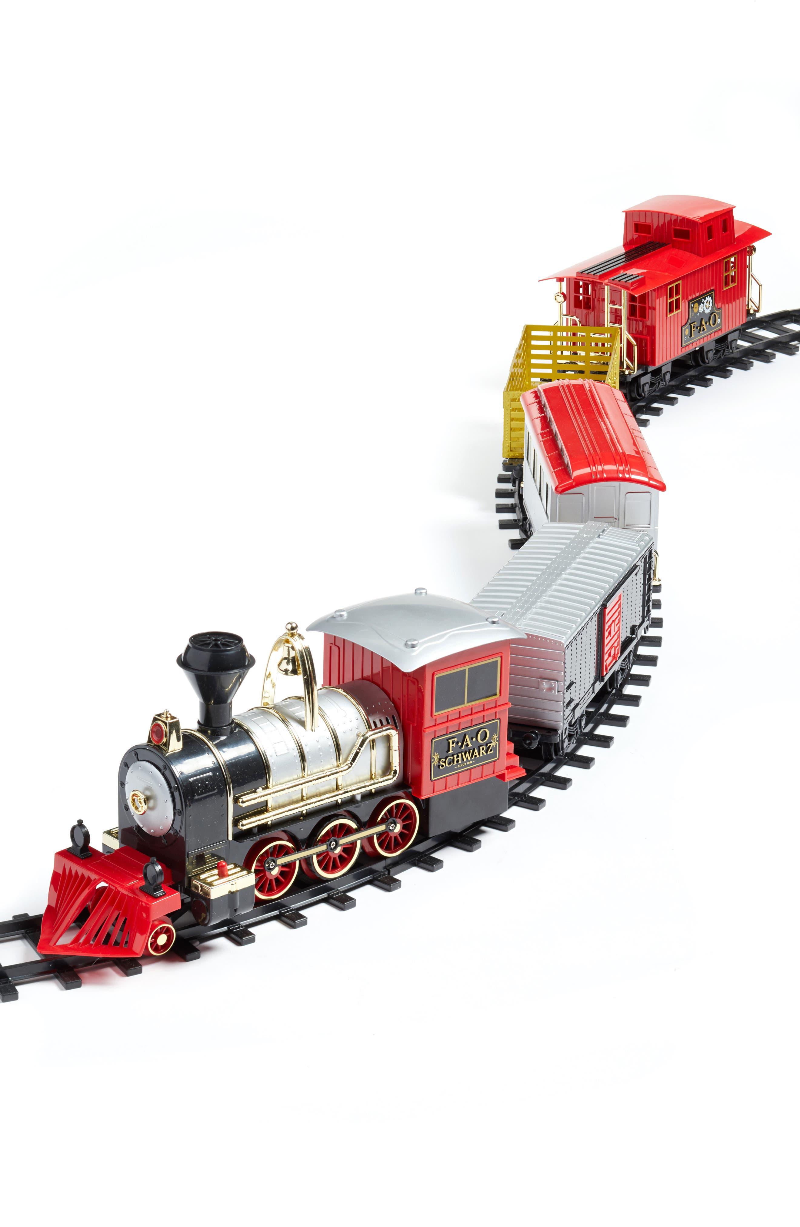 Alternate Image 1 Selected - FAO Schwarz 75-Piece Train Set