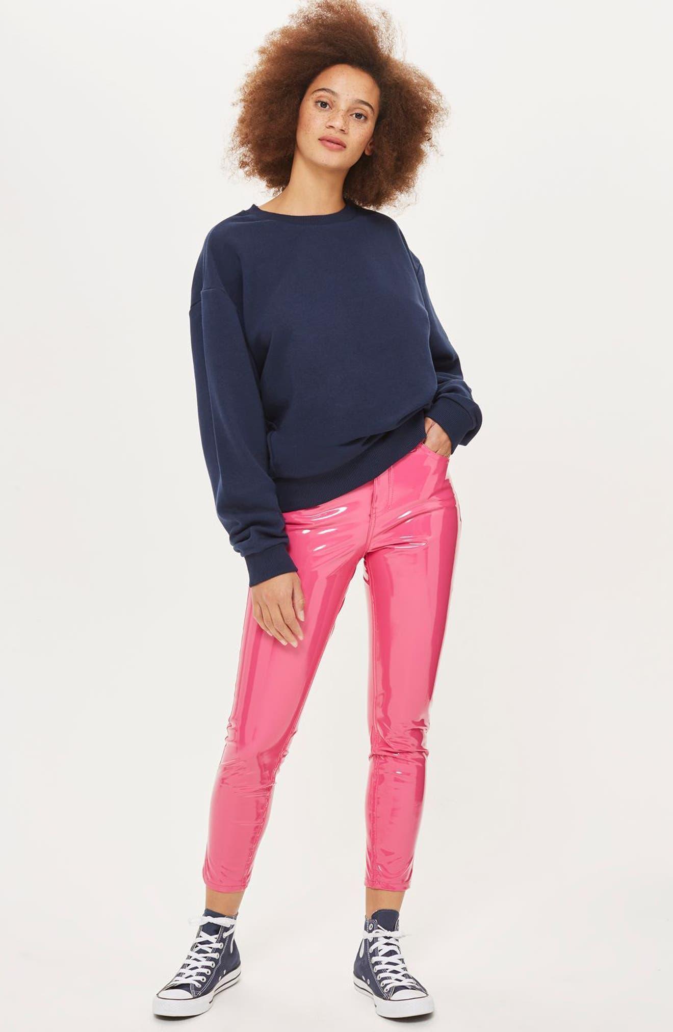 Alternate Image 2  - Topshop Sloppy Sweatshirt