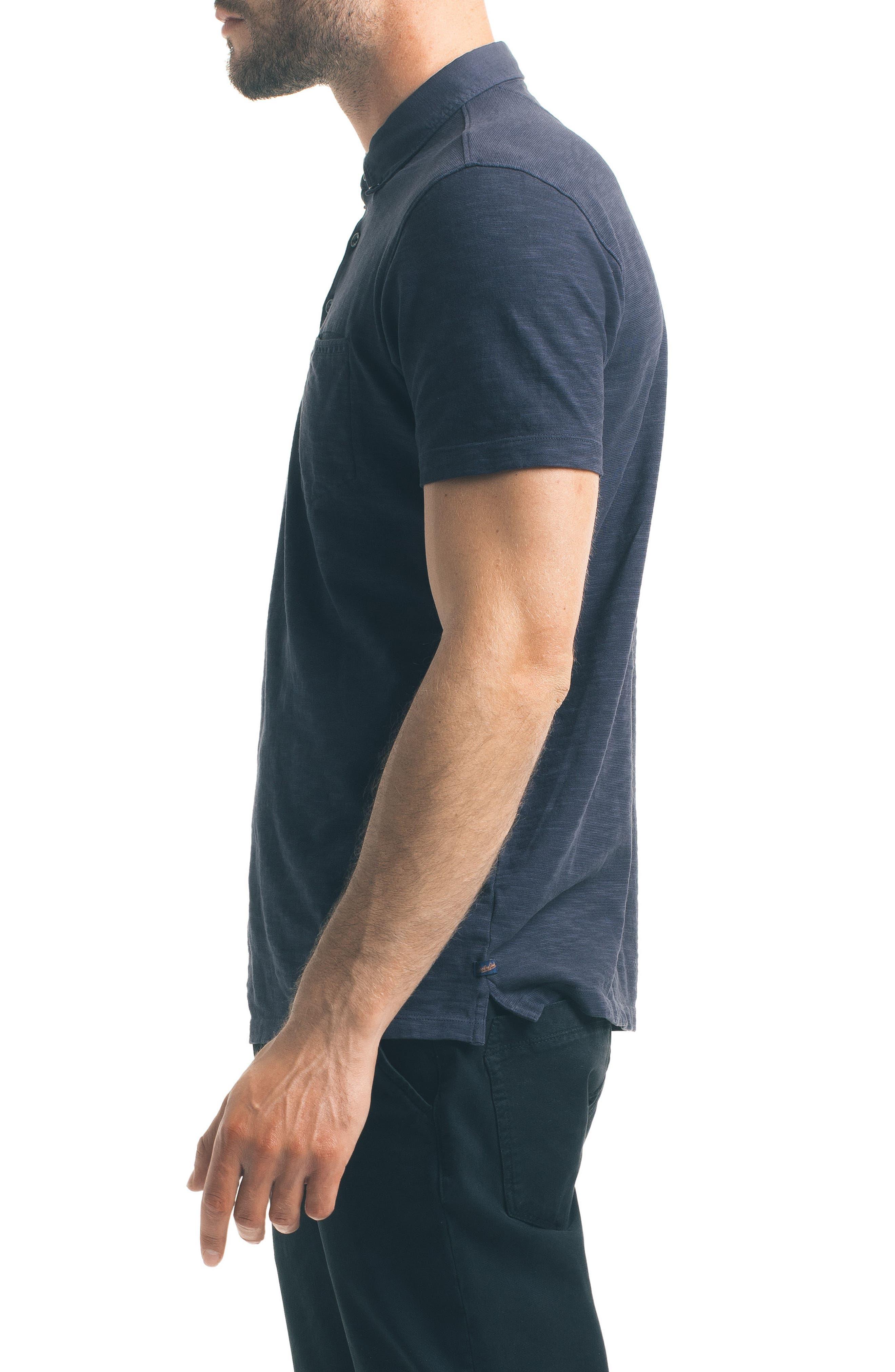 Alternate Image 3  - Good Man Brand Woven Collar Polo