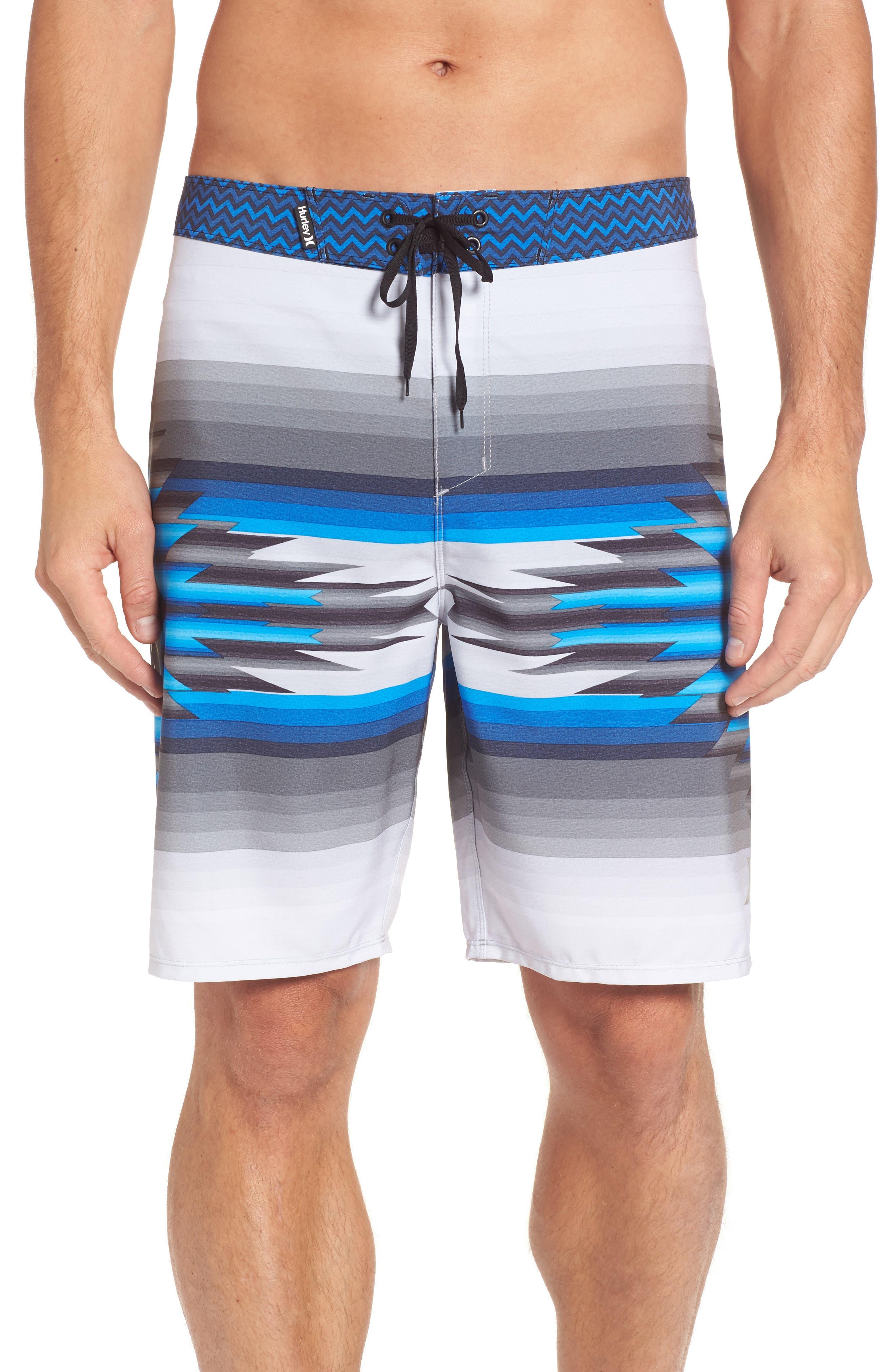 x Pendleton Phantom Board Shorts,                         Main,                         color, Bright Heather Grey
