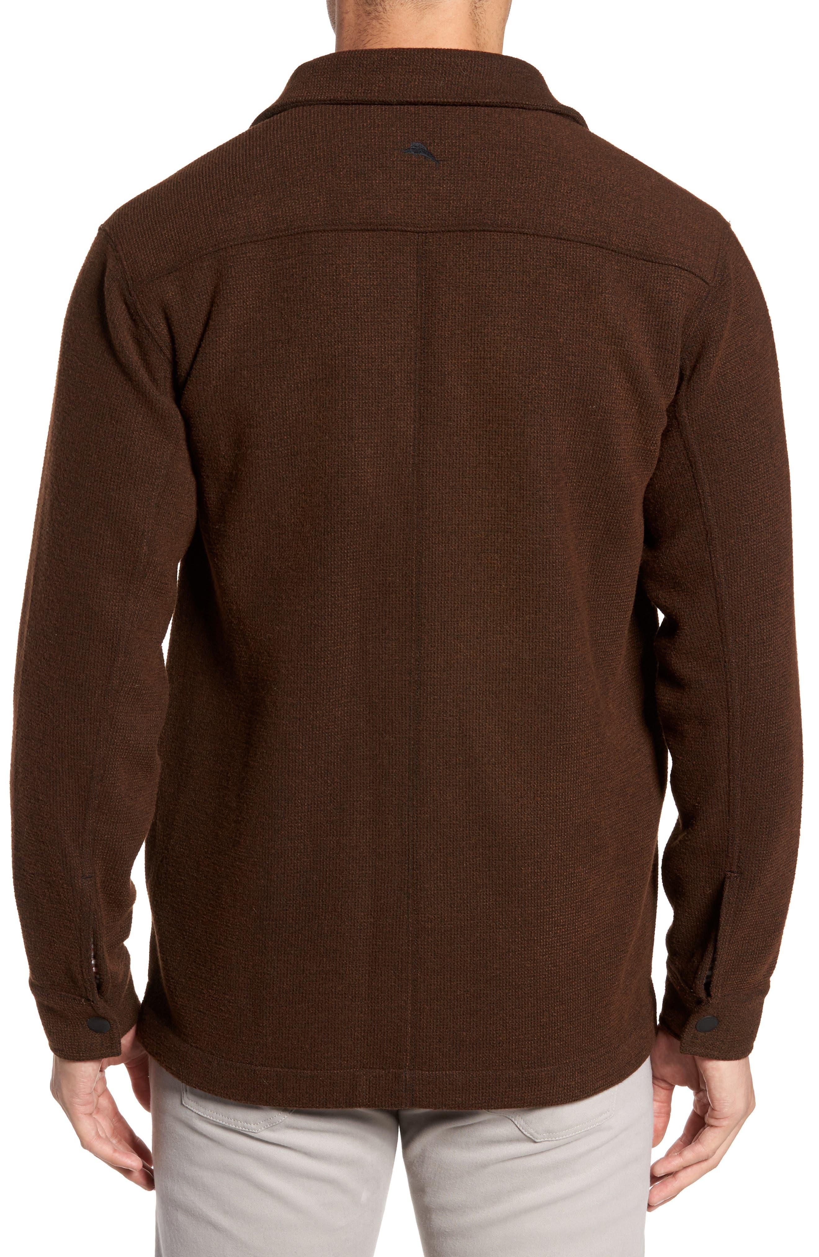 Alternate Image 2  - Tommy Bahama Paradise Creek Snap Front Fleece Jacket