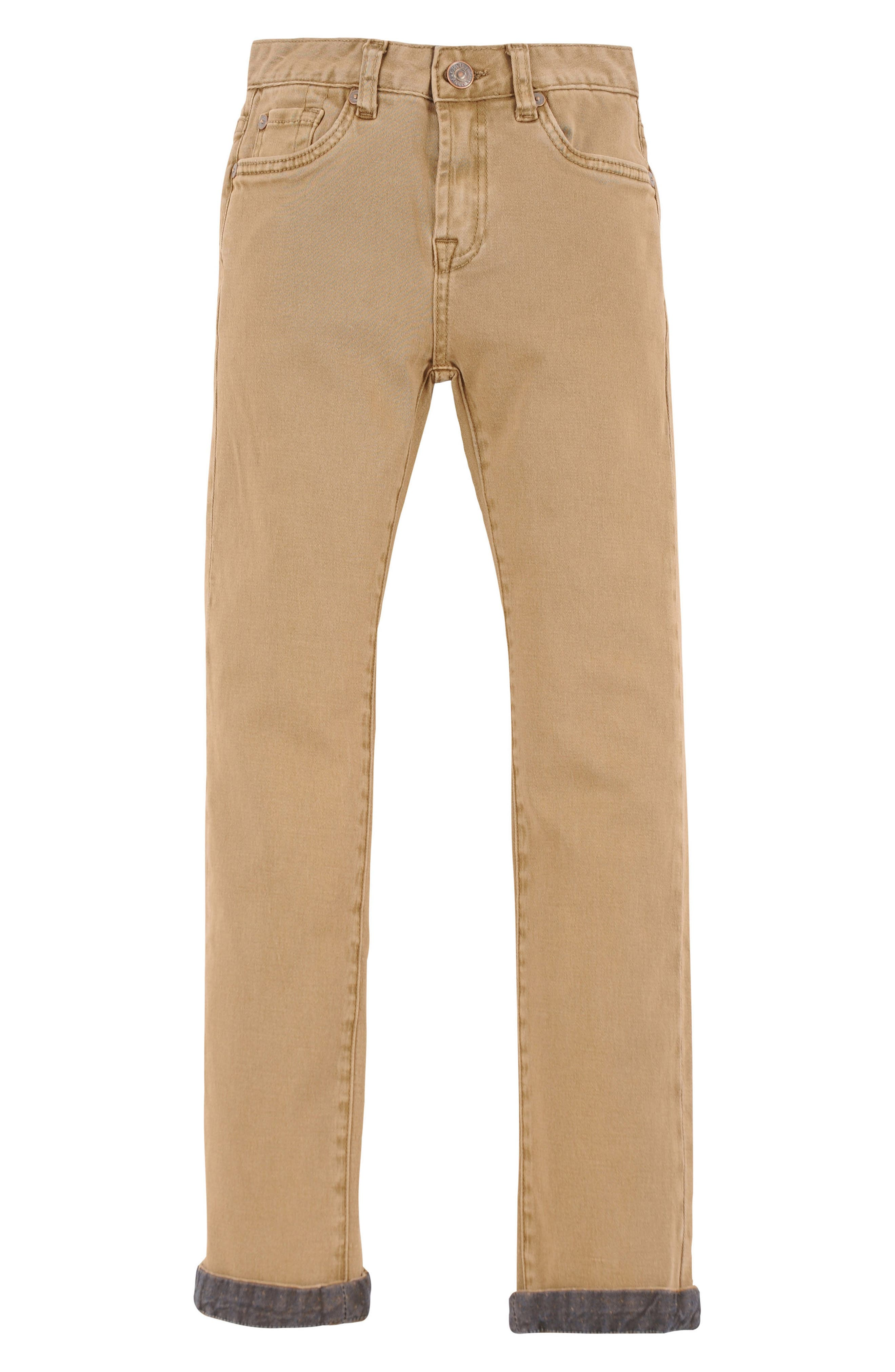 7 For All Mankind® Slimmy Slim Fit Chino Pants (Little Boys)