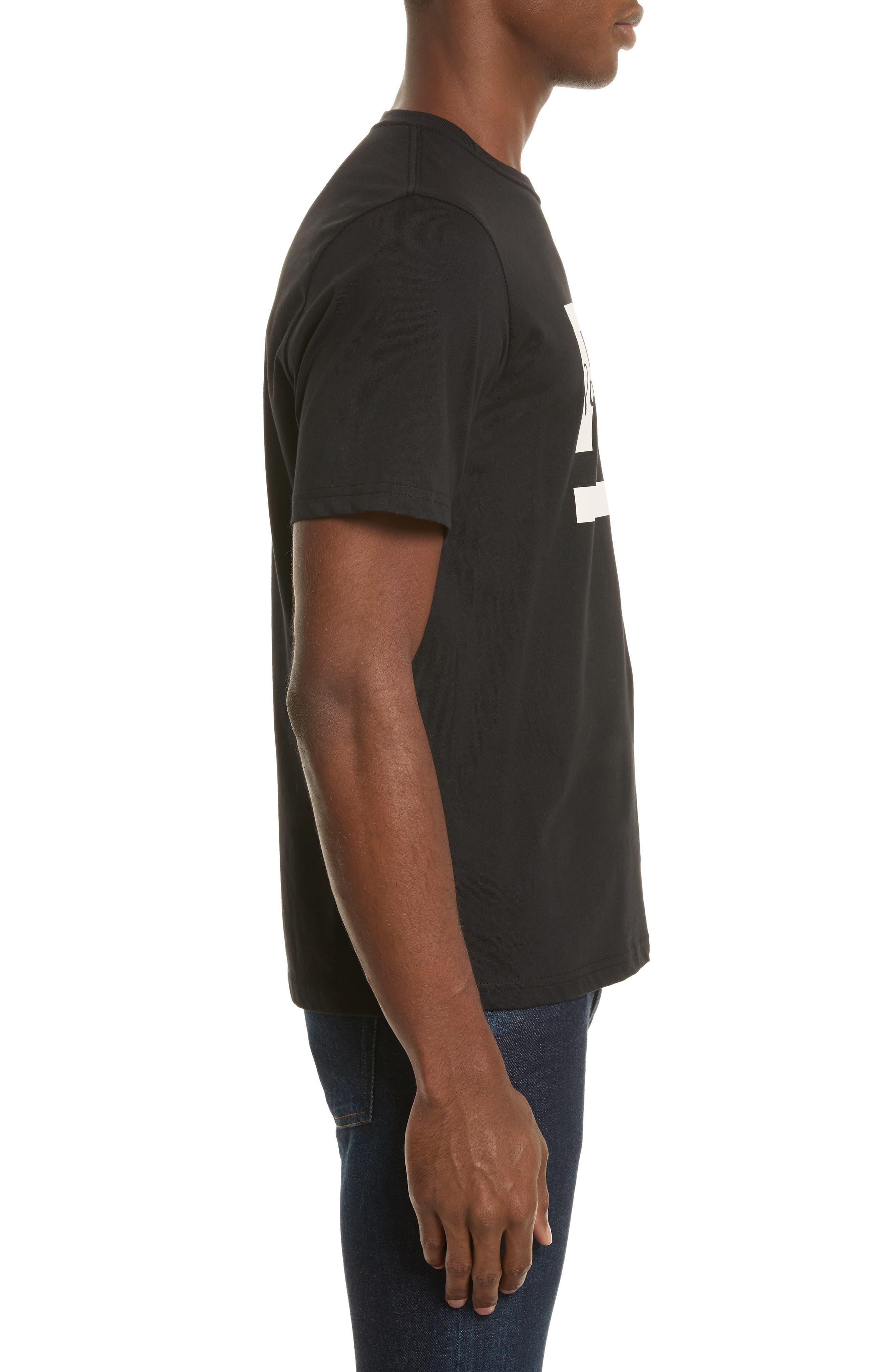 PS Graphic T-Shirt,                             Alternate thumbnail 3, color,                             Black