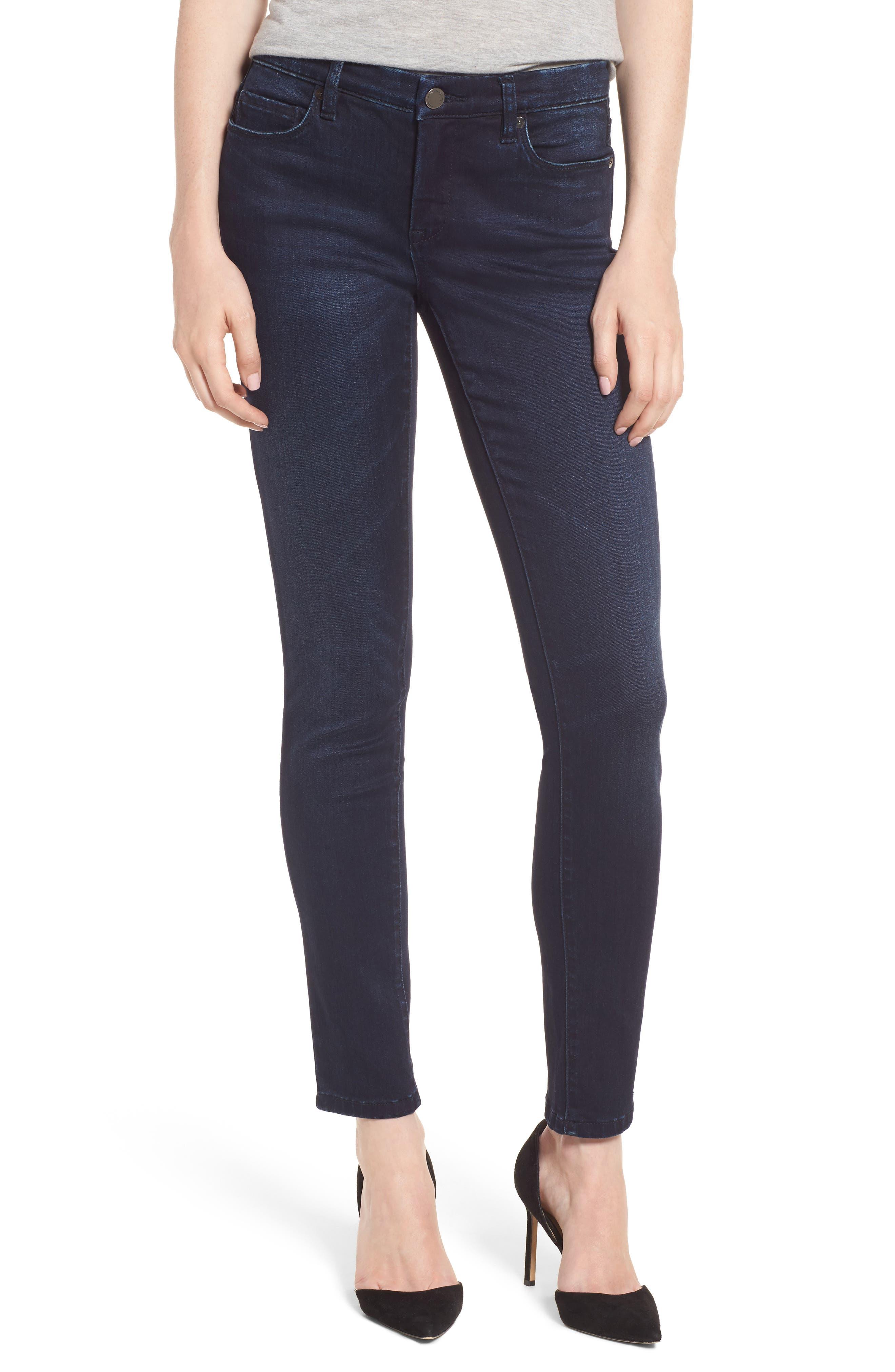 Stretch Skinny Jeans,                         Main,                         color, Junk Brain Blue