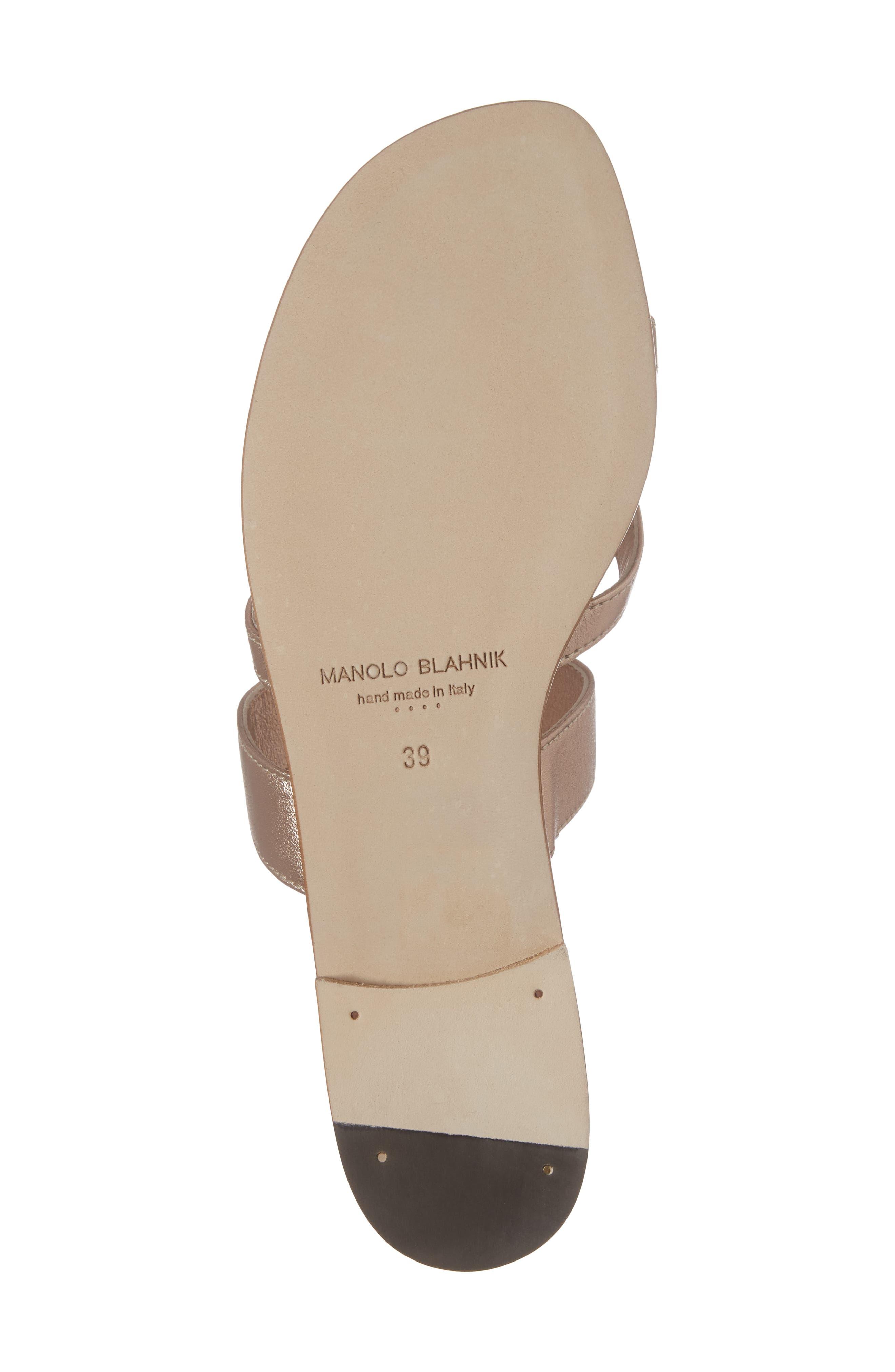 Alternate Image 6  - Manolo Blahnik Slide Sandal (Women)