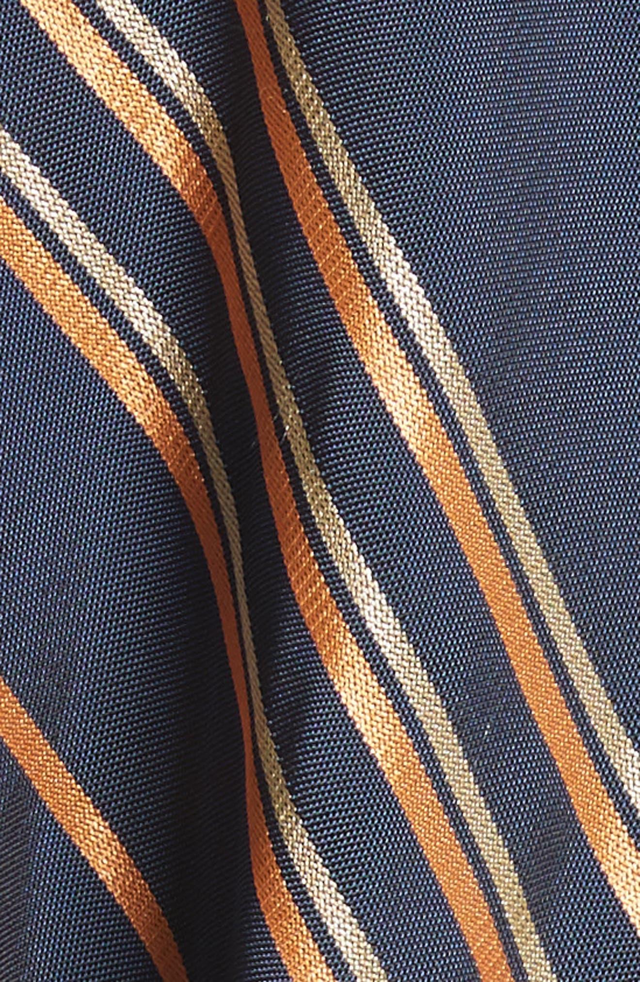 Stripe Dress,                             Alternate thumbnail 6, color,                             Mykonos/Papaya