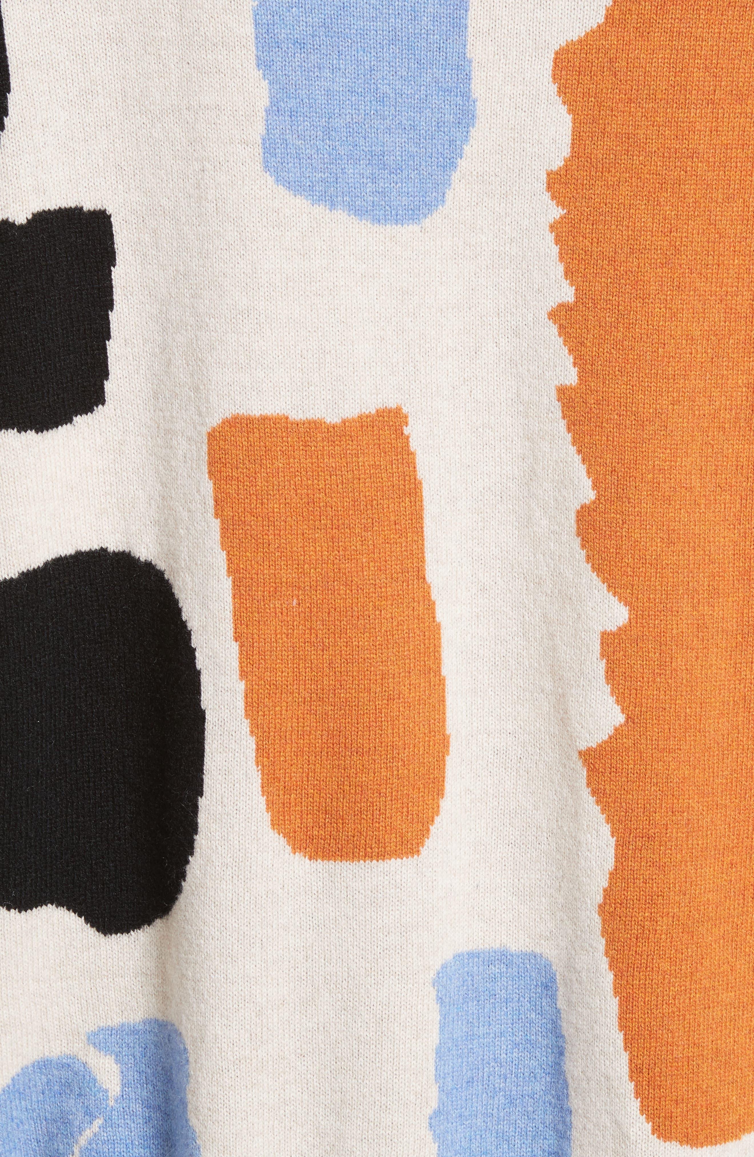 Palette Cashmere & Merino Wool Sweater,                             Alternate thumbnail 5, color,                             Palette Greige