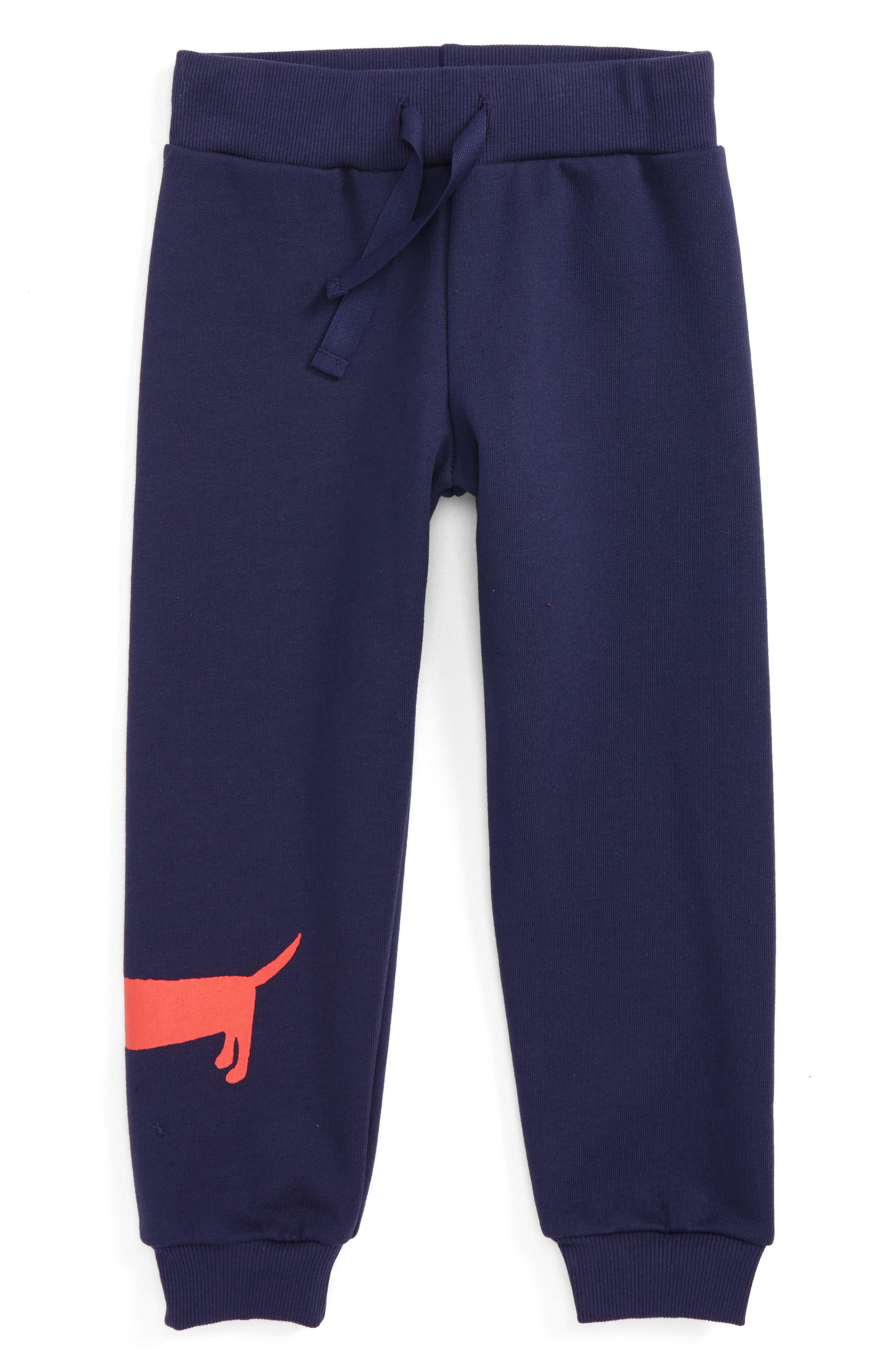 Dog Sweatpants,                             Main thumbnail 1, color,                             Navy