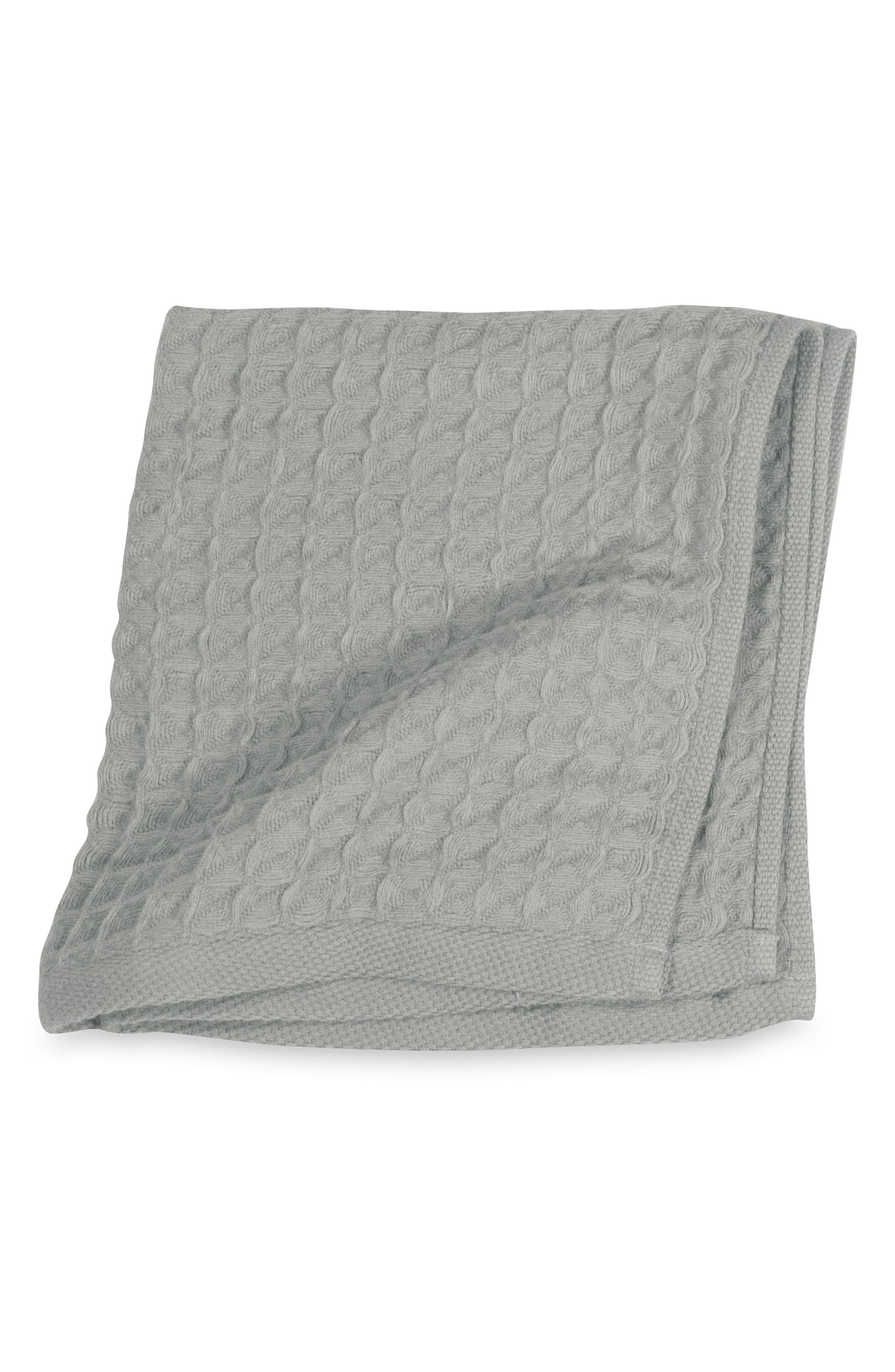 Air Waffle Washcloth,                             Main thumbnail 1, color,                             Grey