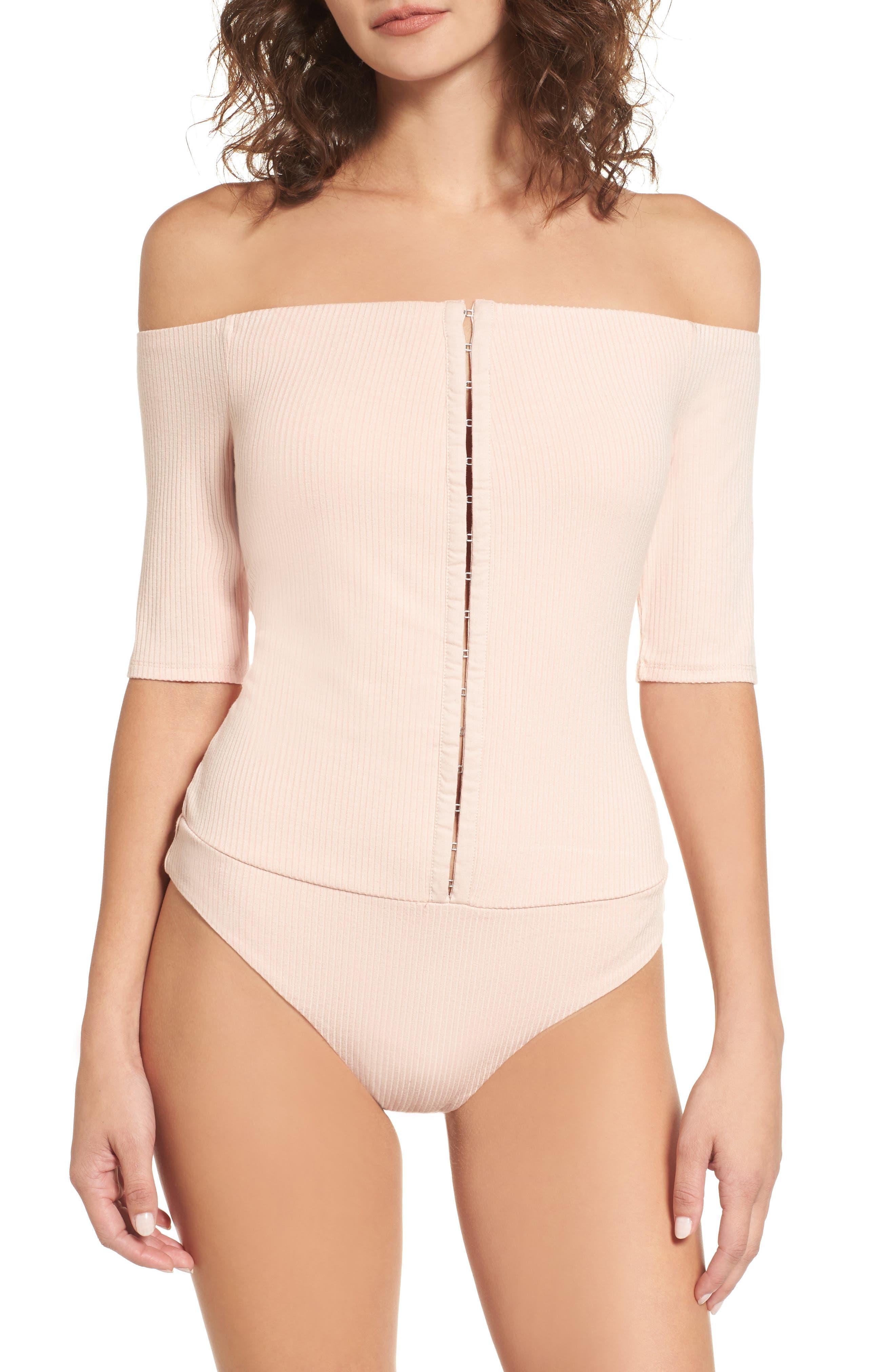Alternate Image 4  - AFRM Margo Off the Shoulder Bodysuit