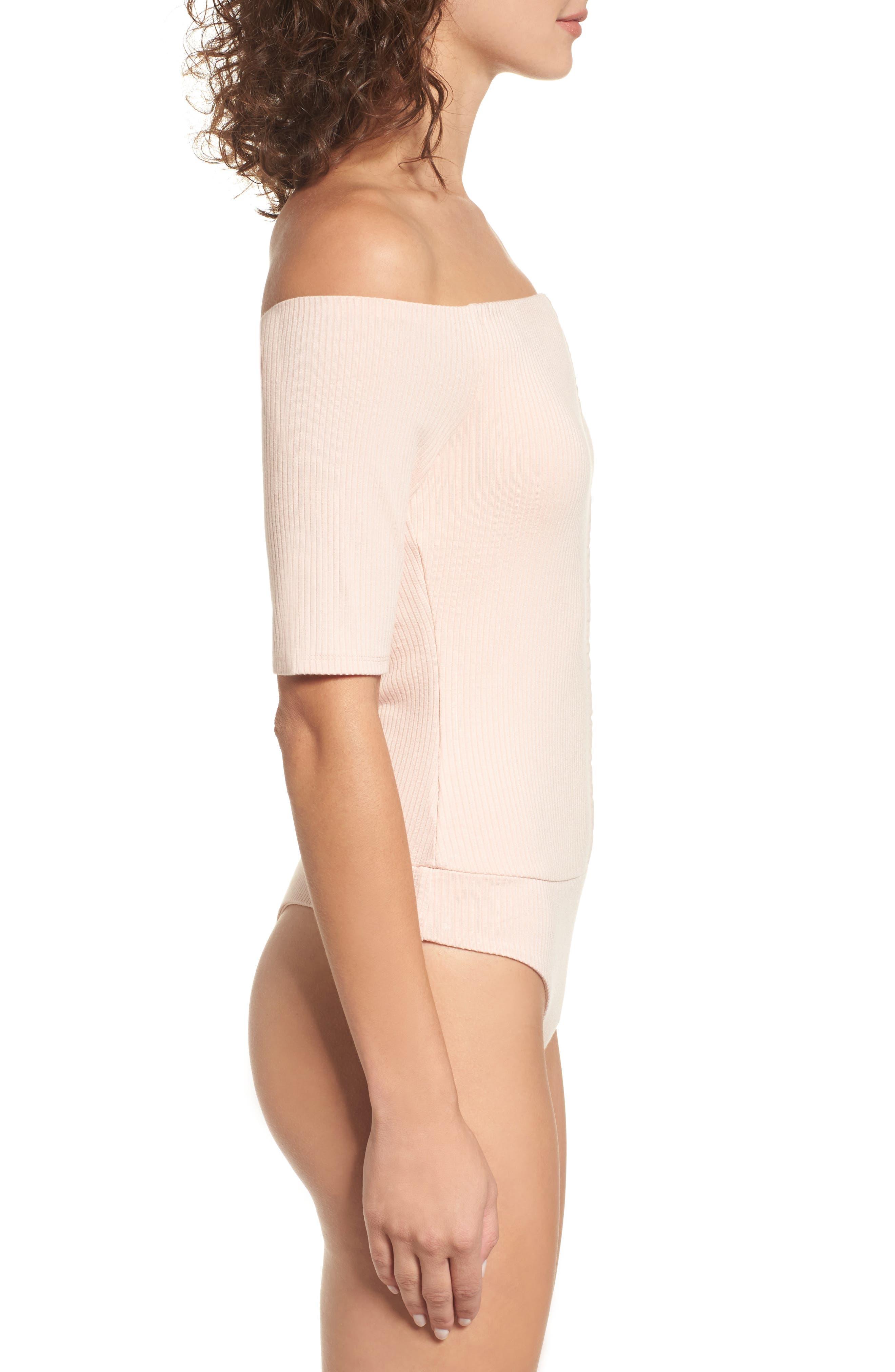 Alternate Image 3  - AFRM Margo Off the Shoulder Bodysuit