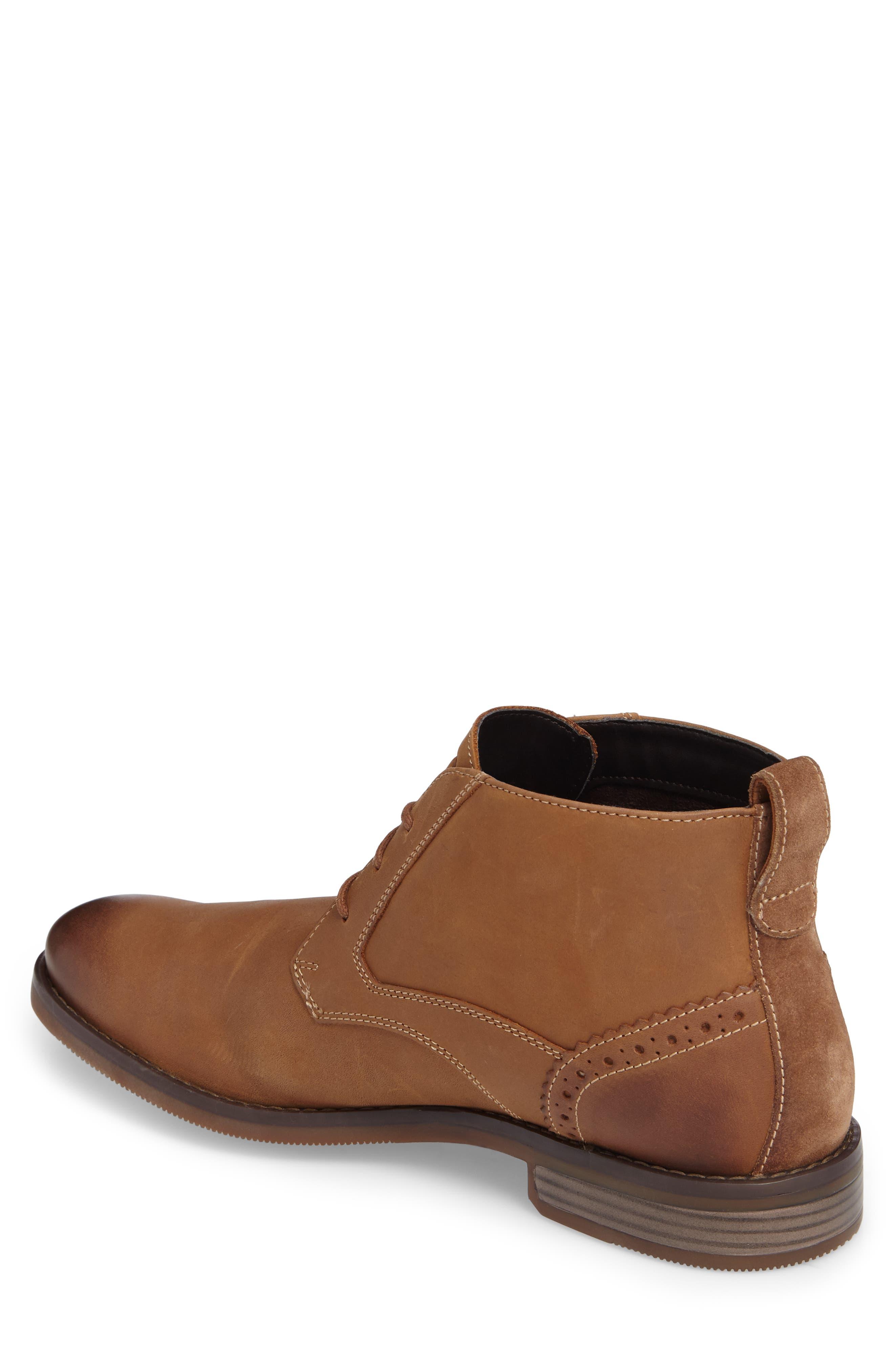 Wynstin Chukka Boot,                             Alternate thumbnail 3, color,                             Tobacco Leather