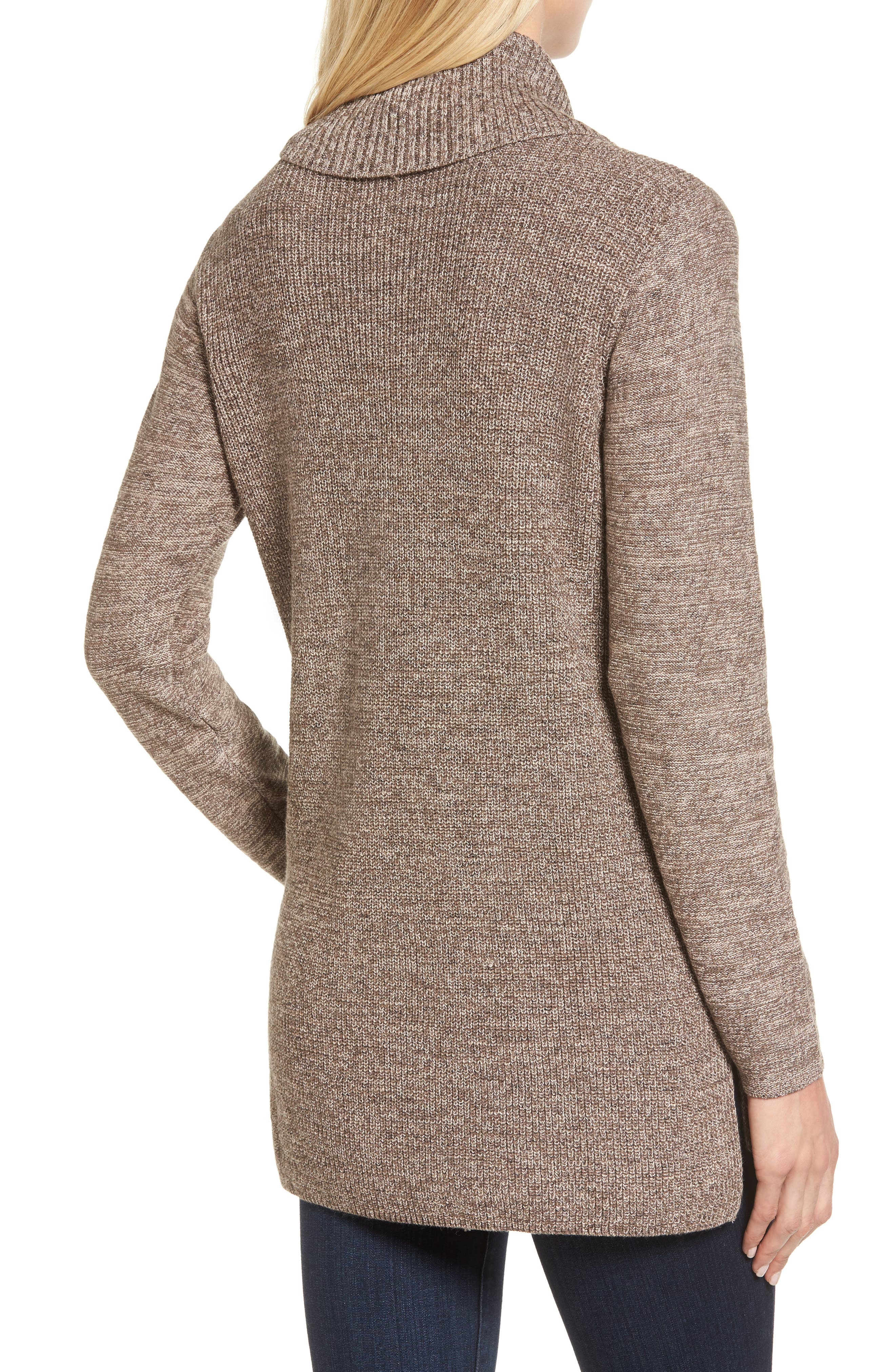 North Star Turtleneck Tunic,                             Alternate thumbnail 2, color,                             Kona