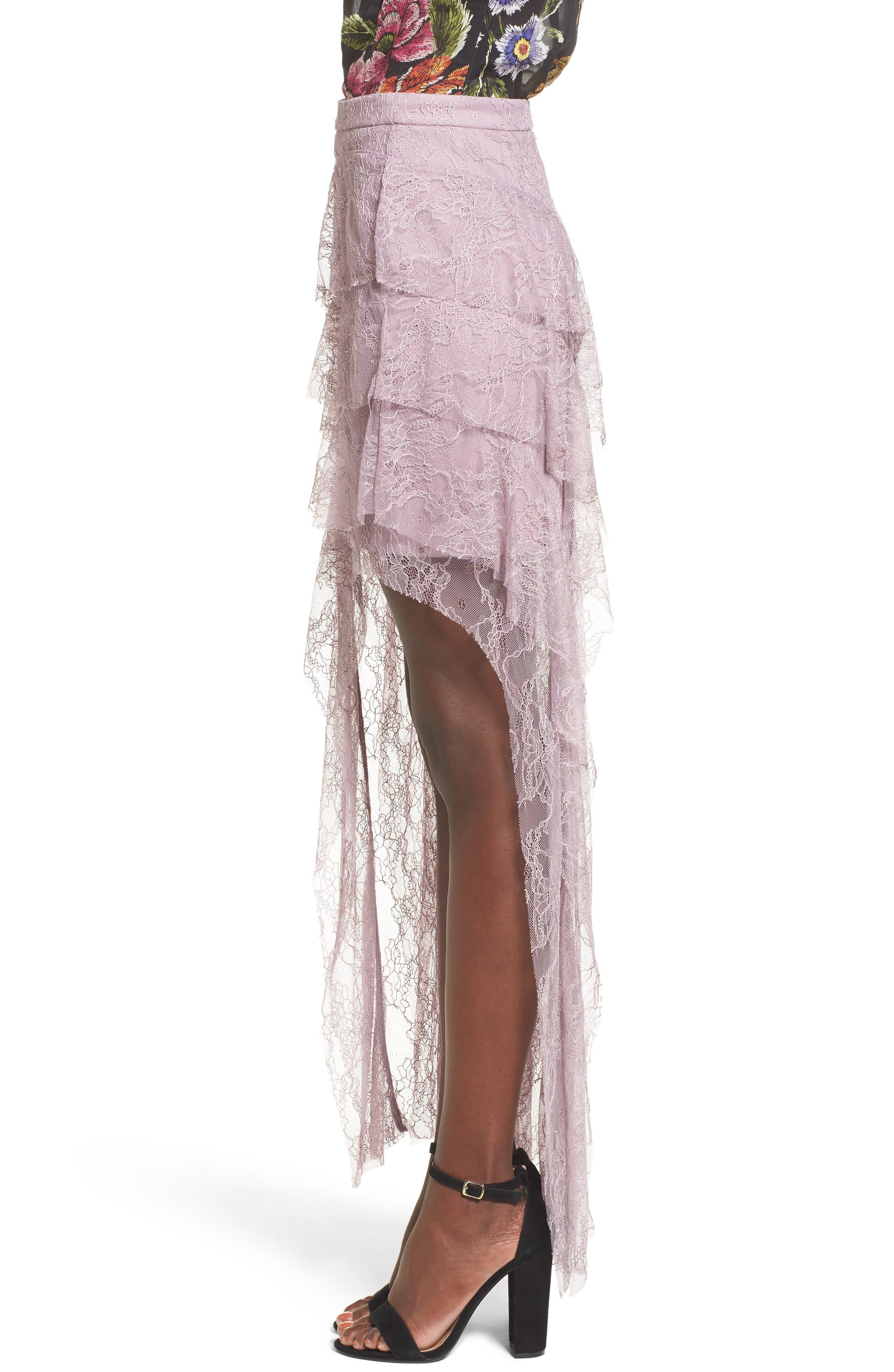 Alternate Image 3  - AFRM Emilia Ruffle Maxi Skirt