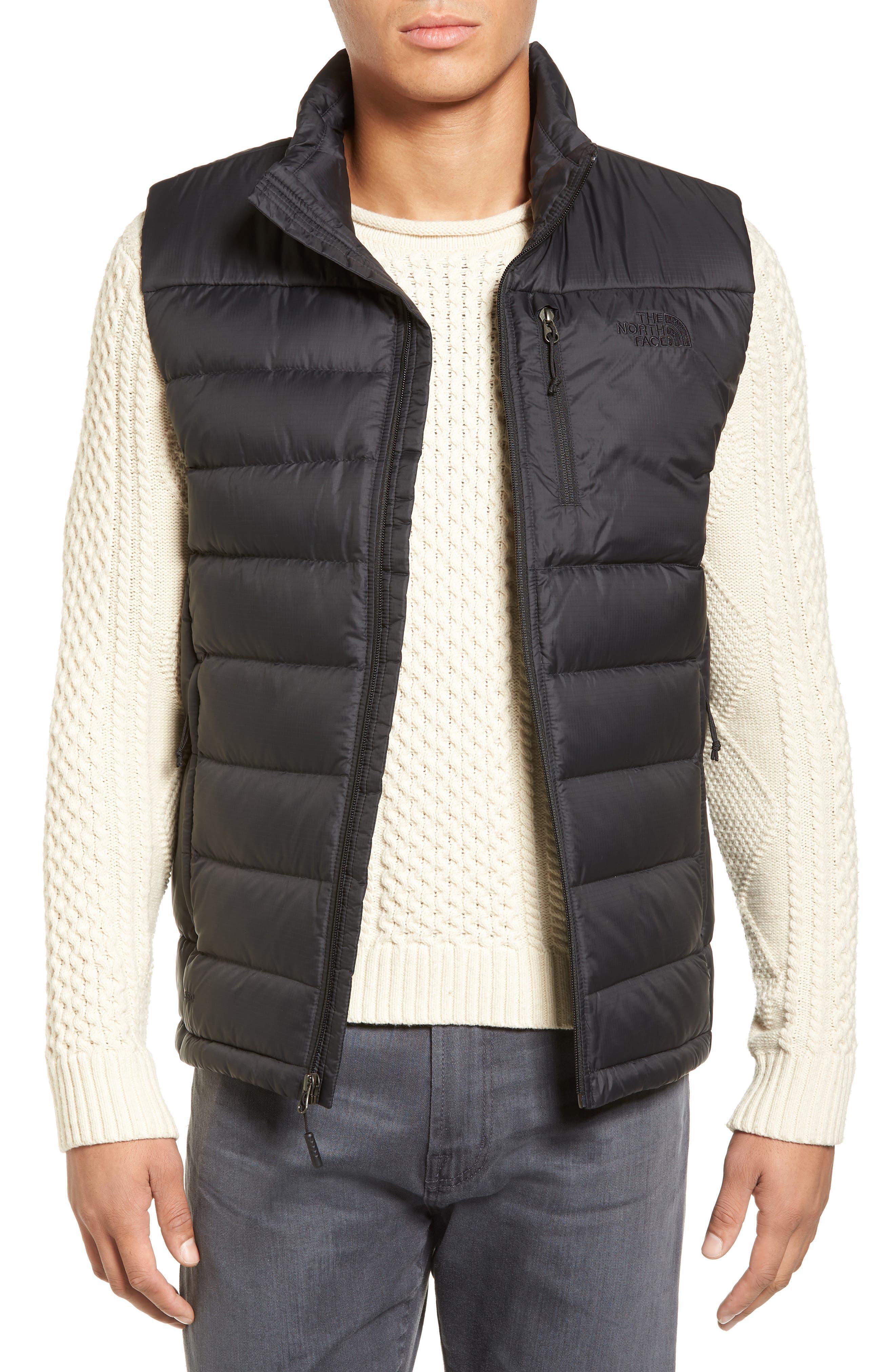 'Aconcagua' Goose Down Vest,                         Main,                         color, Matte Black