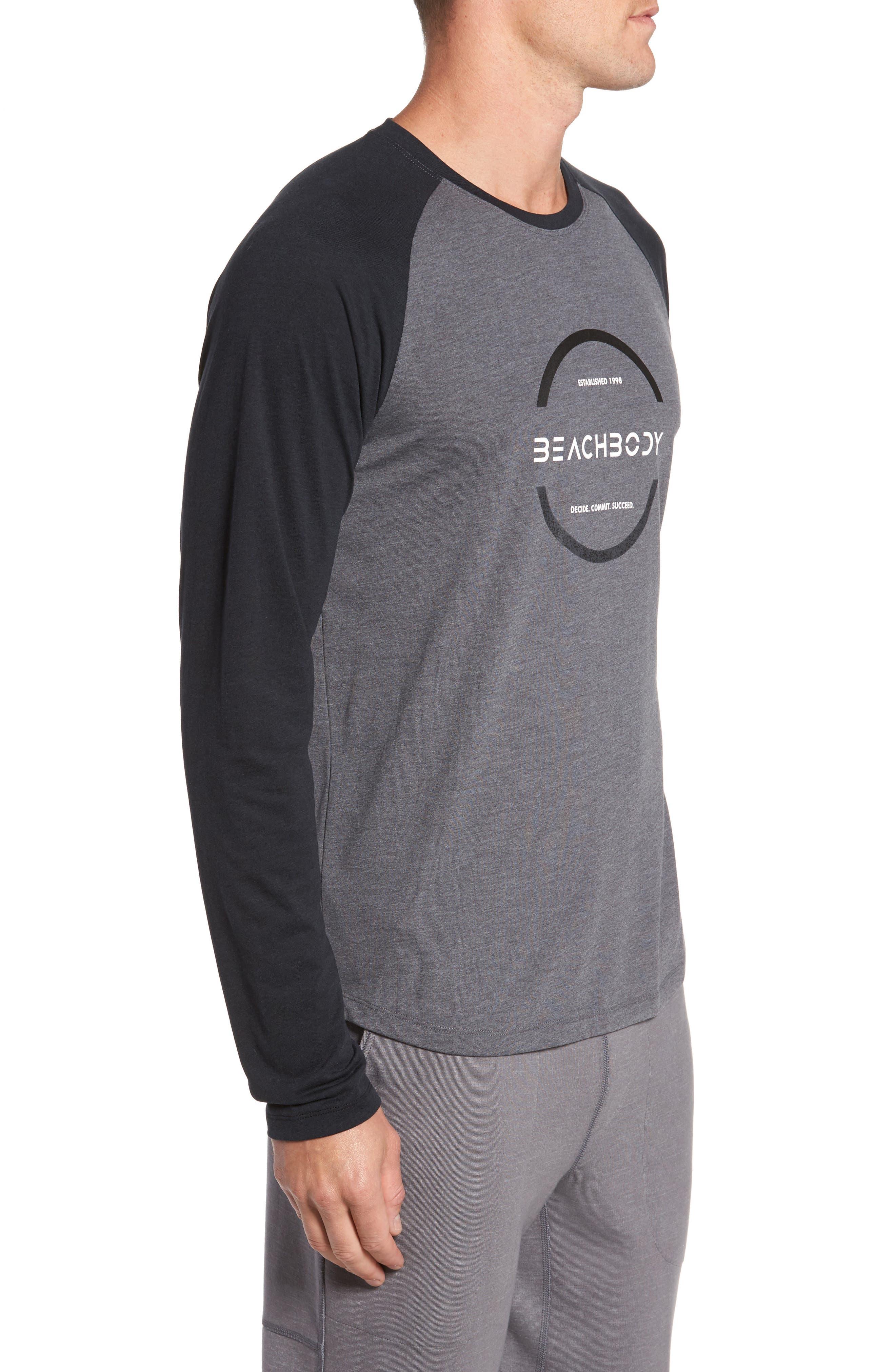 Alternate Image 3  - Beachbody Go-To Infinity Long Sleeve T-Shirt
