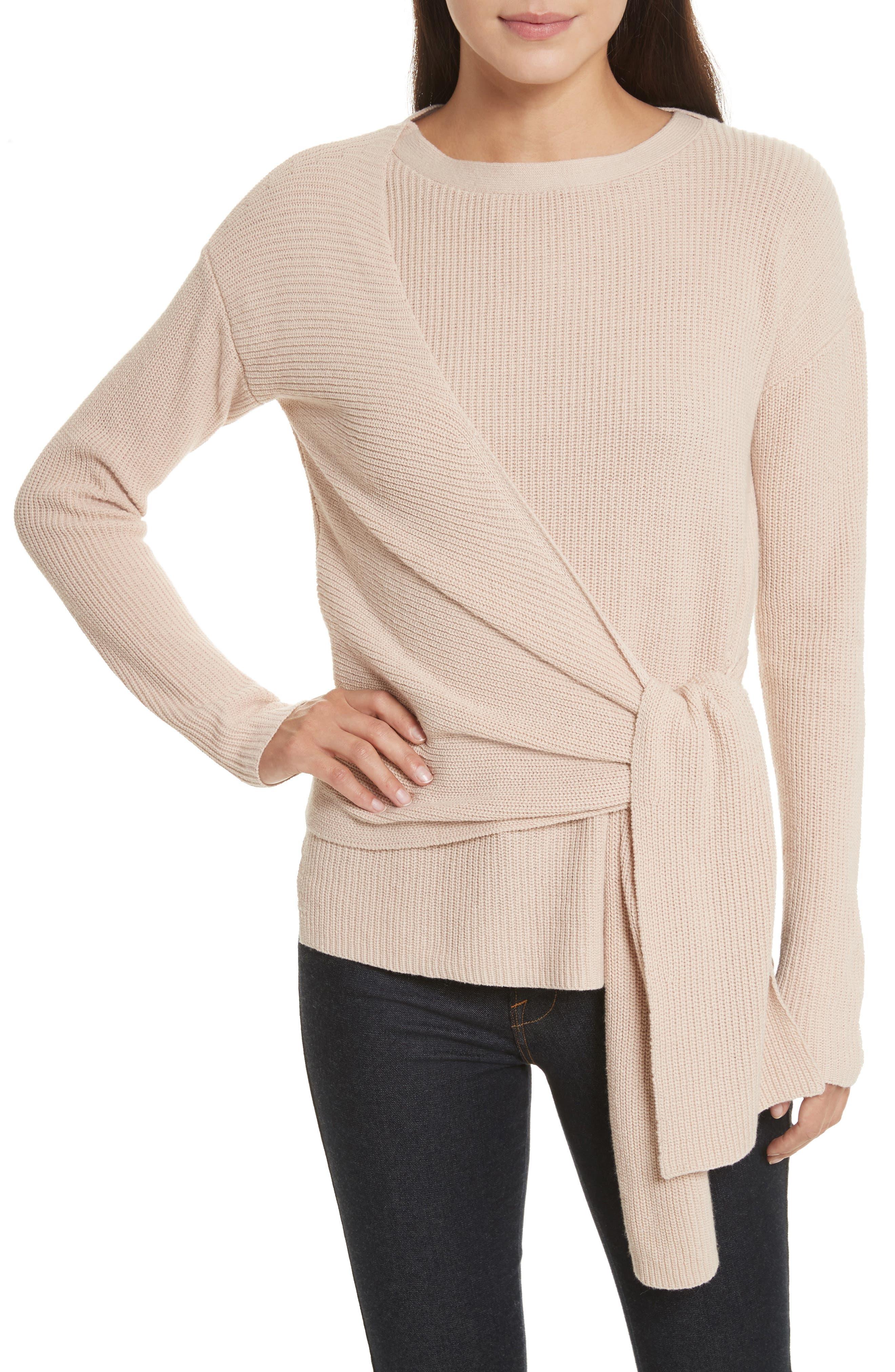 Main Image - Brochu Walker Greys Wrap Sweater