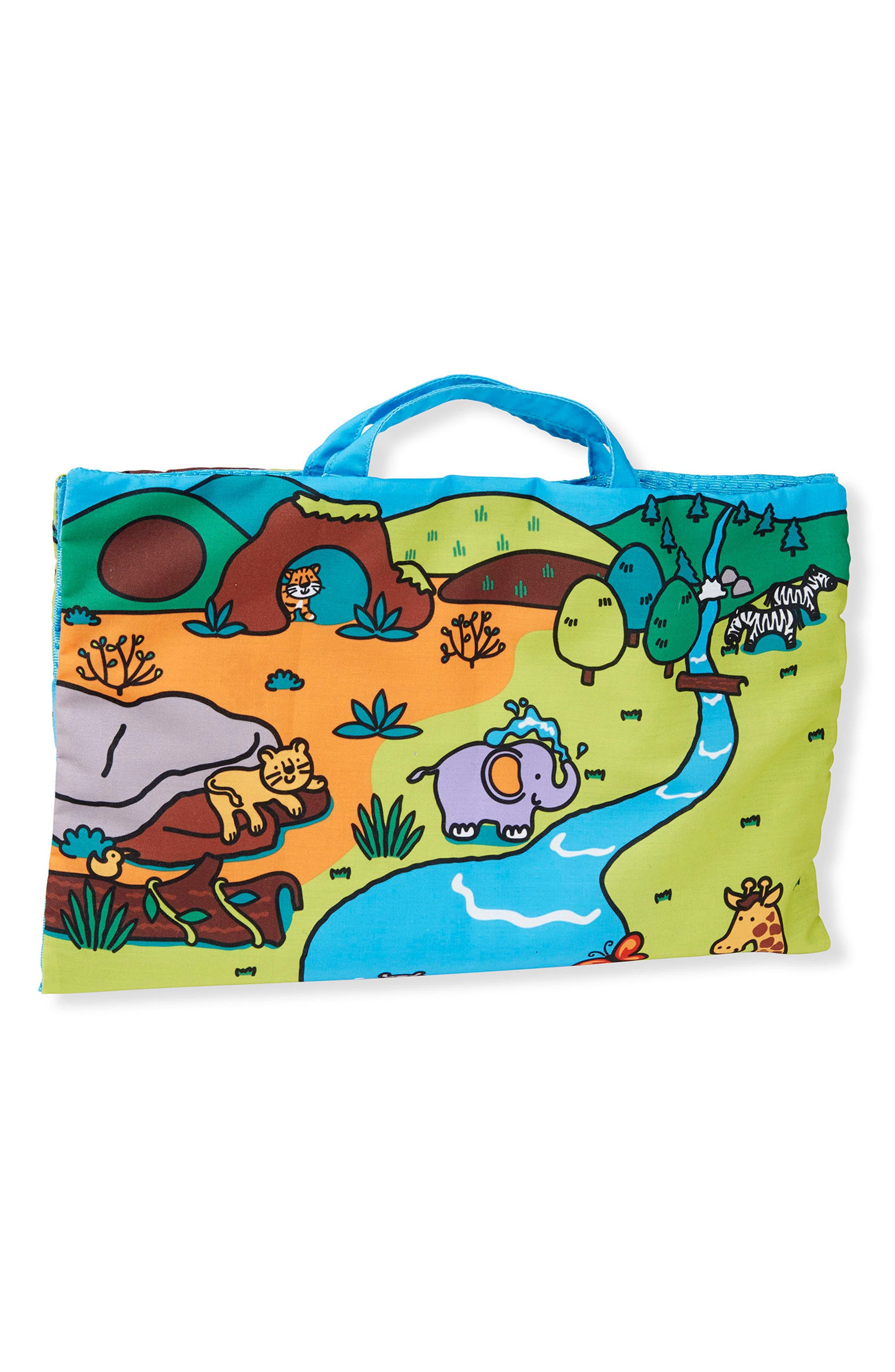 Take-Along Safari Play Mat,                         Main,                         color, Beige