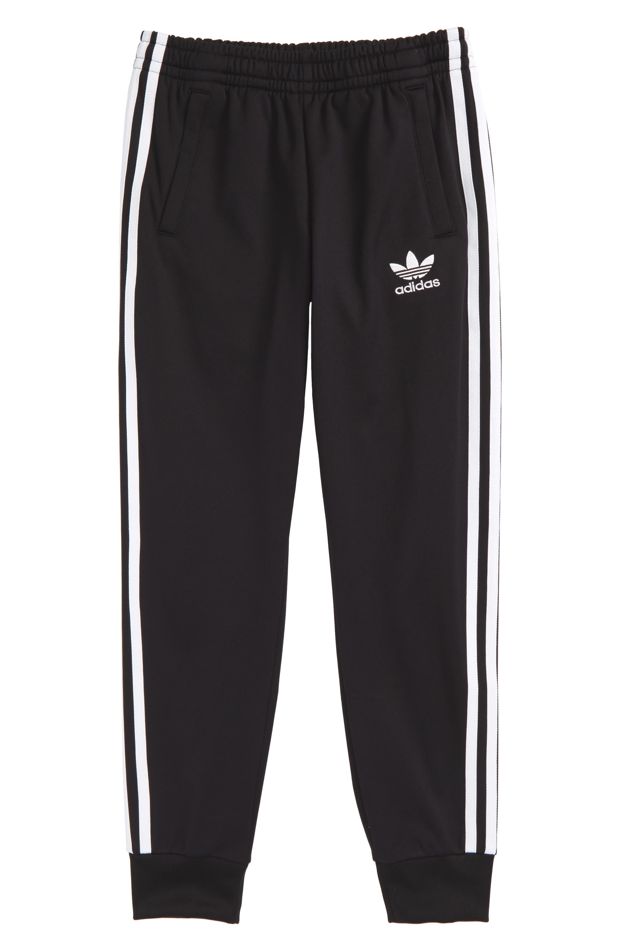Alternate Image 1 Selected - adidas Originals Superstar Track Pants (Little Boys & Big Boys)