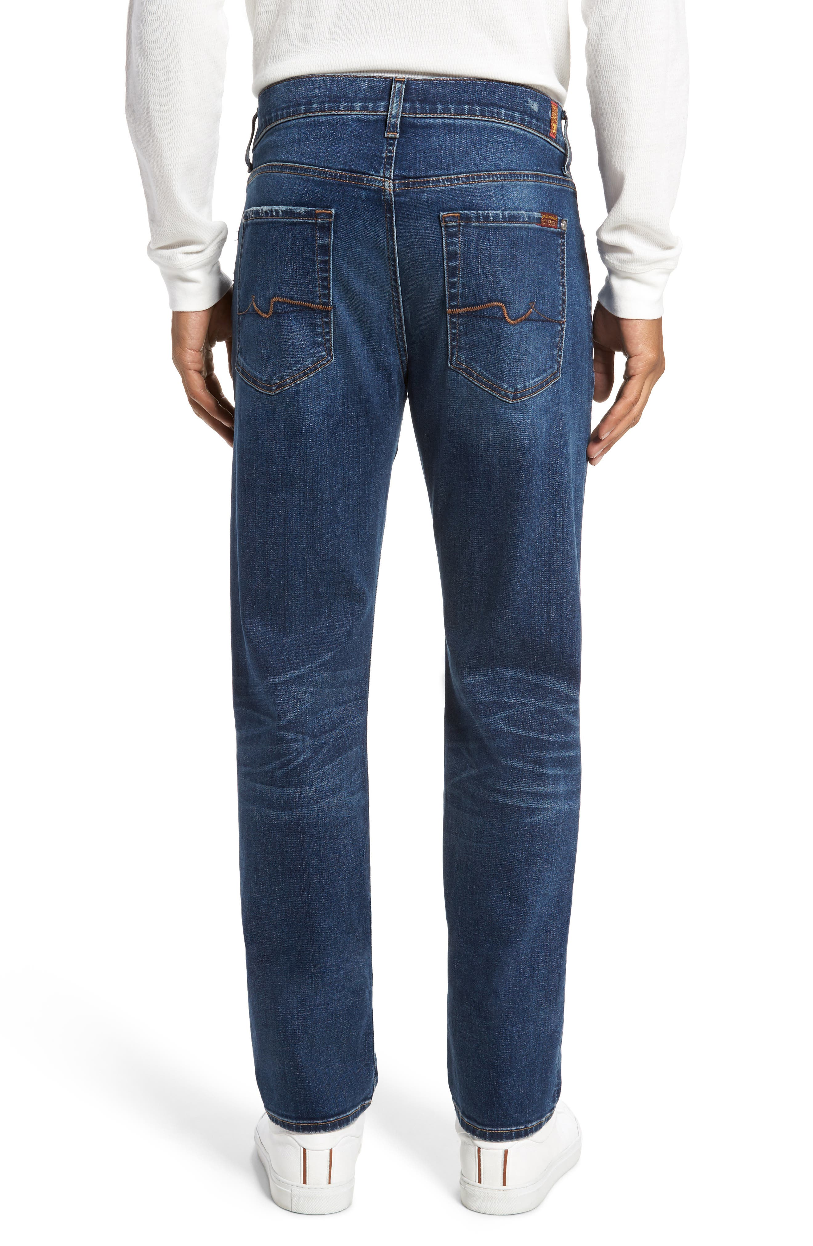 Alternate Image 2  - 7 For All Mankind® Slimmy Slim Fit Jeans (Union)